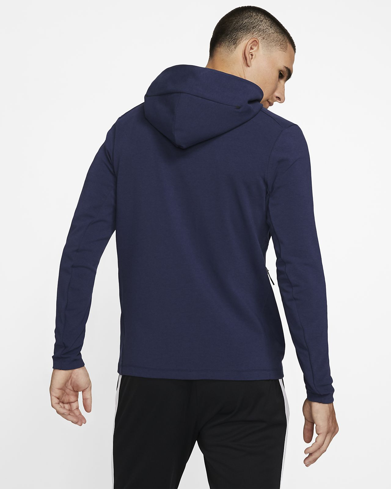 Sweat à capuche à zippé Paris Saint Germain Tech Pack pour Homme