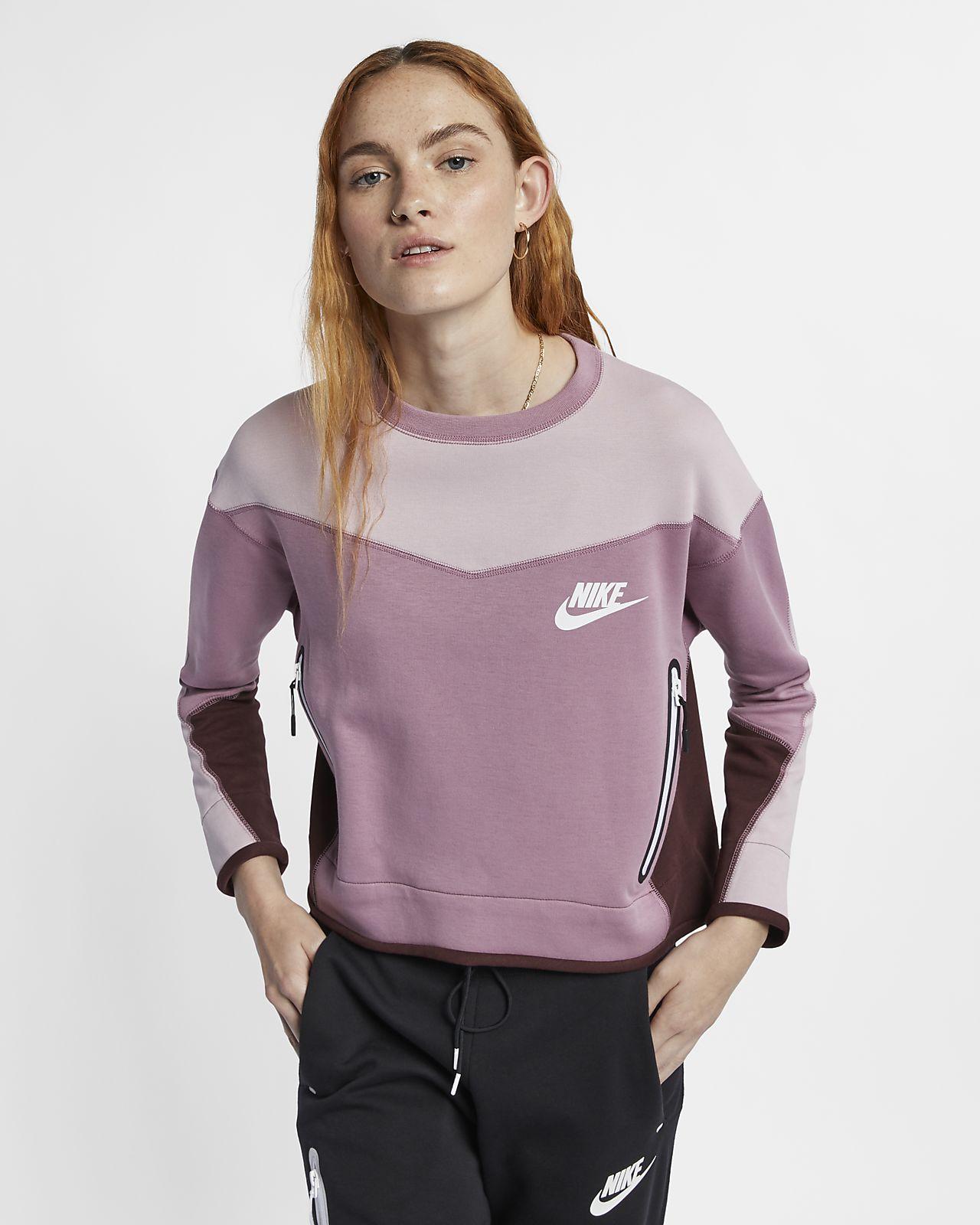 Nike Sportswear Tech Fleece Samarreta de coll rodó - Dona