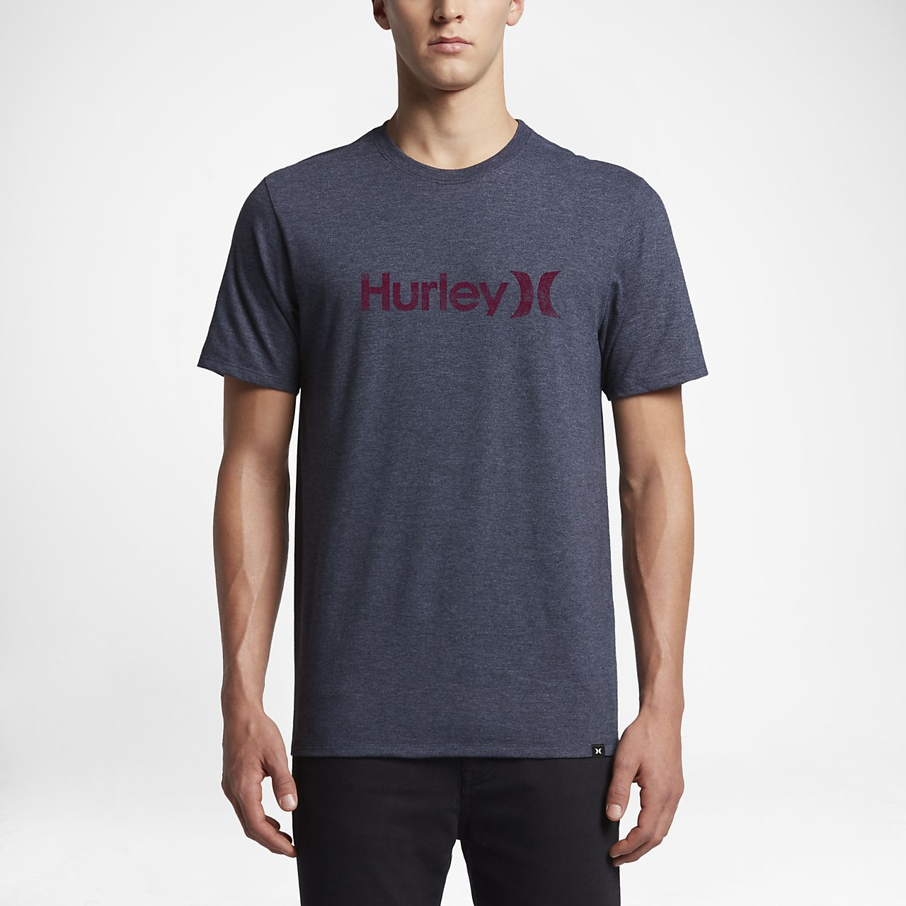 ... Hurley One And Only Push Through Men's T-Shirt