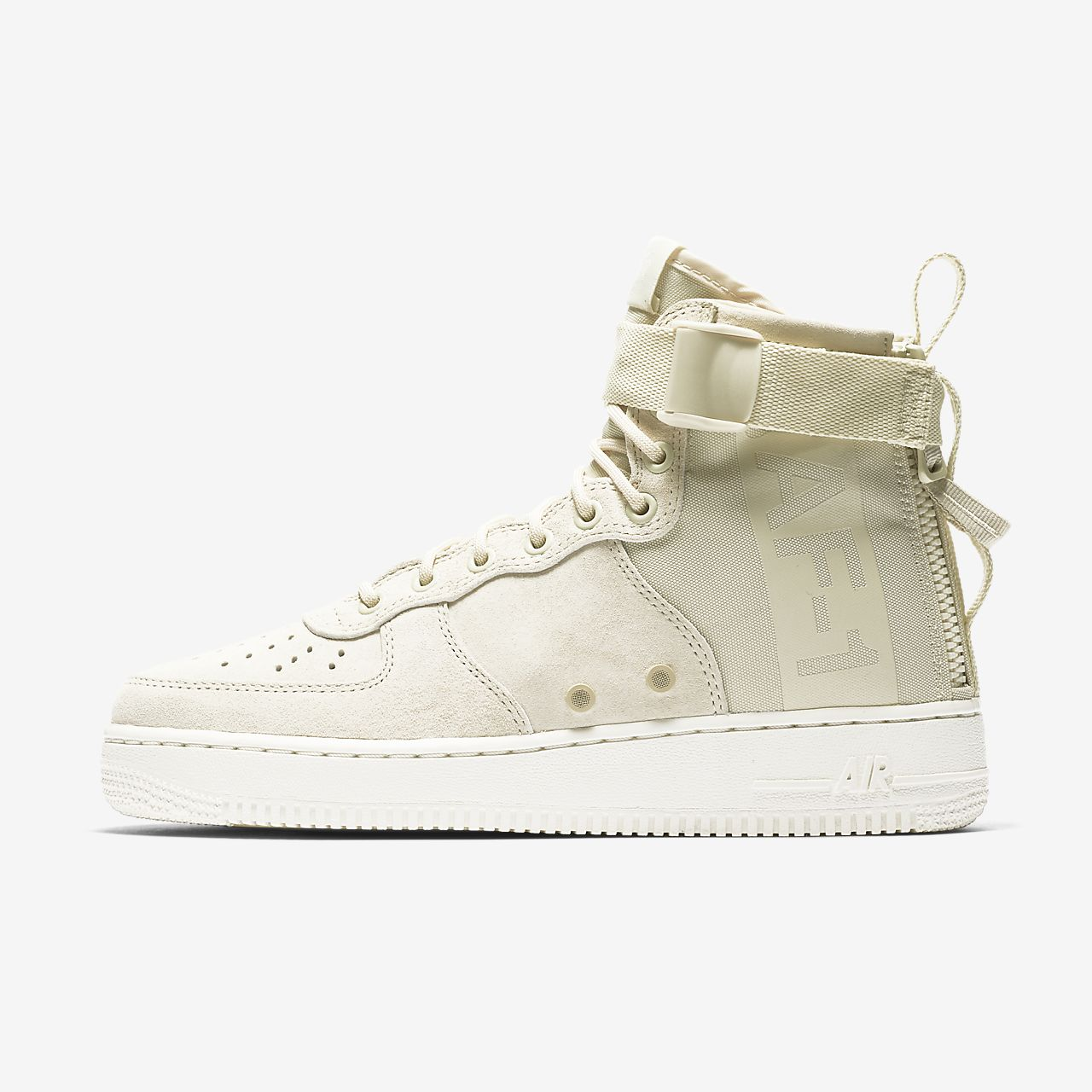 nike sf air force 1 mid men's shoe white nz