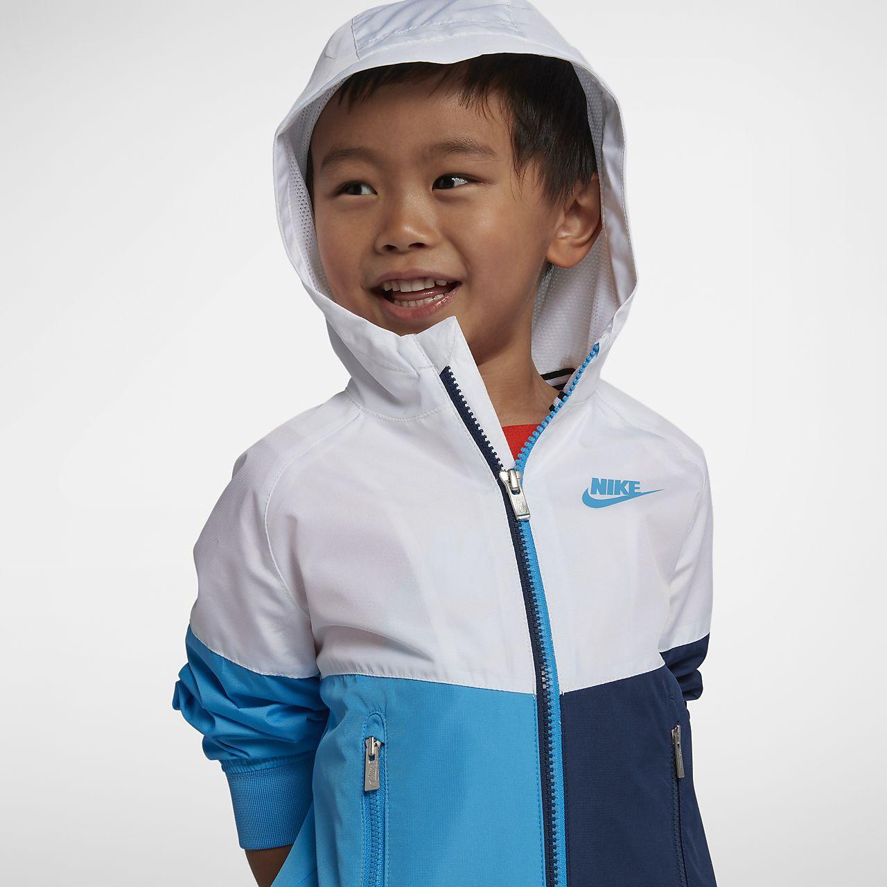 the best attitude 15e58 0c082 ... Kurtka dla maluchów Nike Sportswear Windrunner