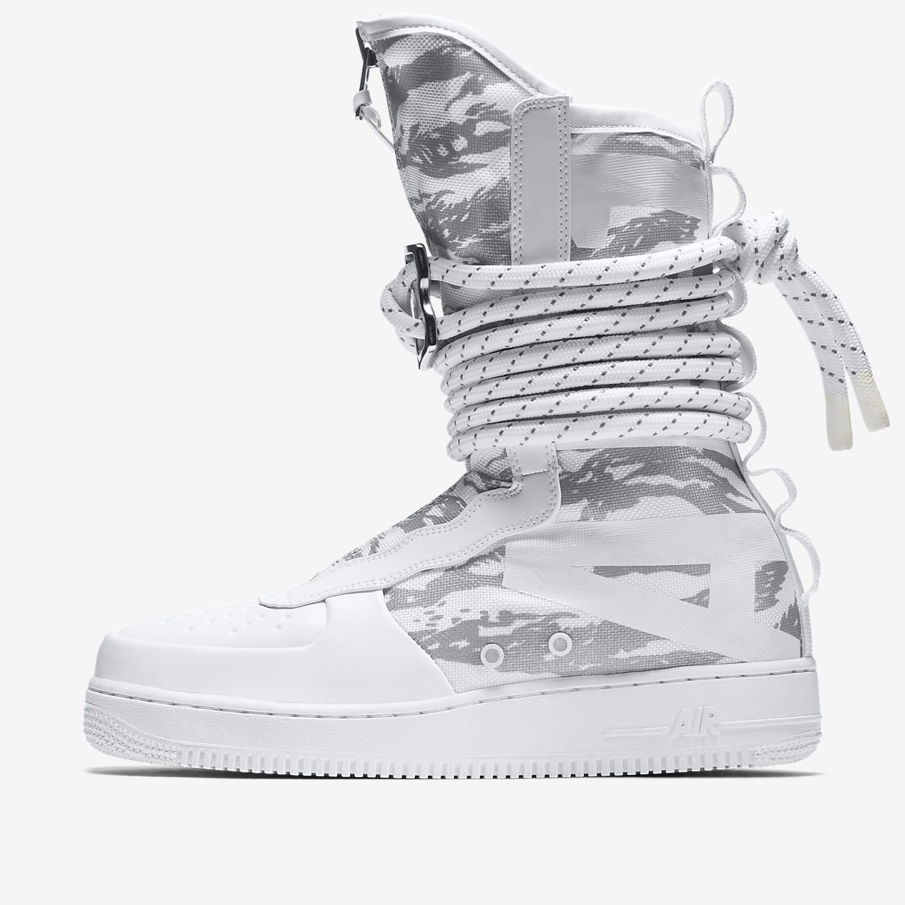 Nike SF Air Force 1 Hi Ibex White White White AA1130100