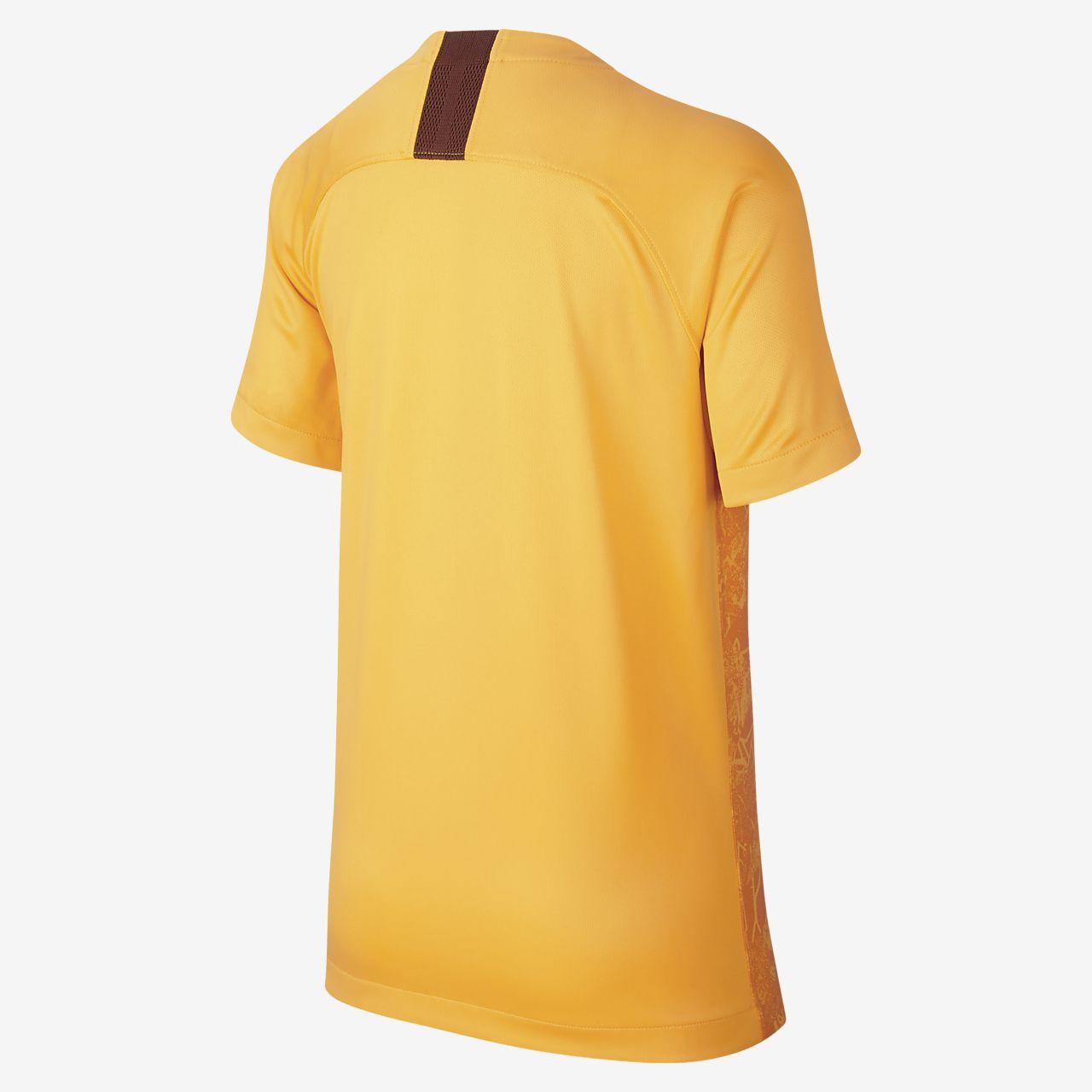 e47a826cebfe7 ... Camiseta de fútbol para niños talla grande alternativa A.S. Roma  Stadium