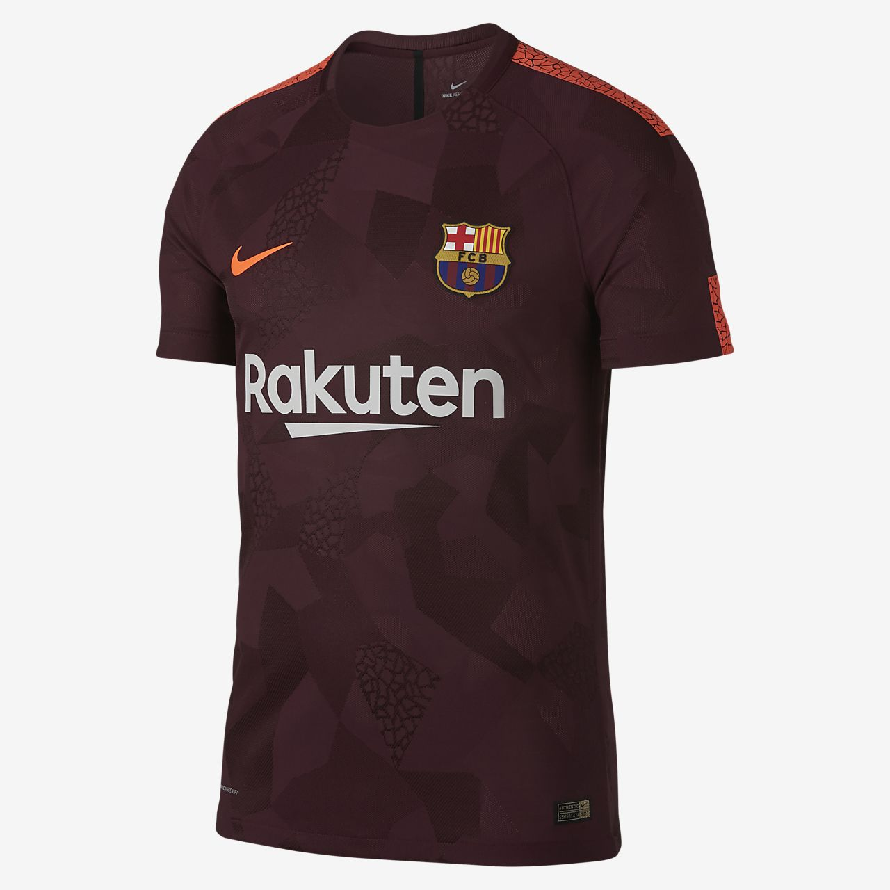 2017/18 FC Barcelona Vapor Match Third Men's Football Shirt