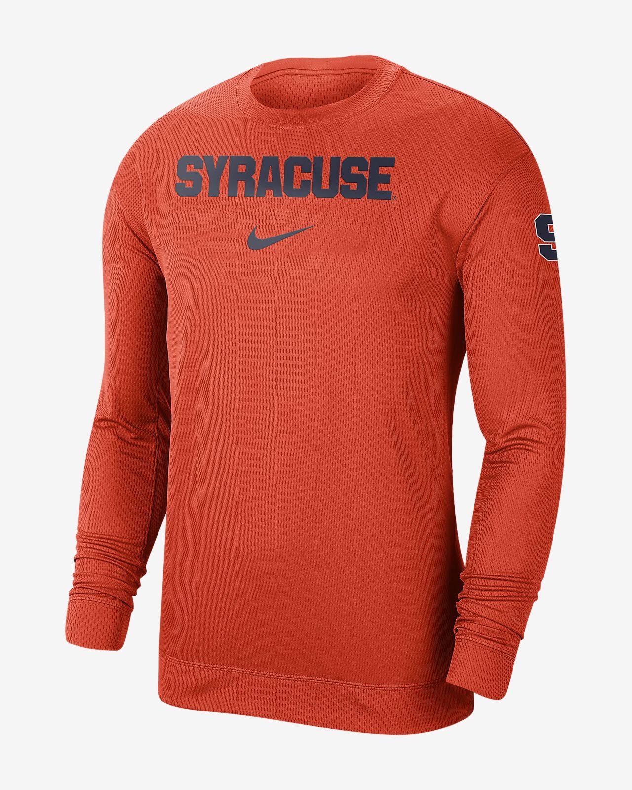 Nike College Dri-FIT Spotlight (Syracuse) Men's Long-Sleeve Top
