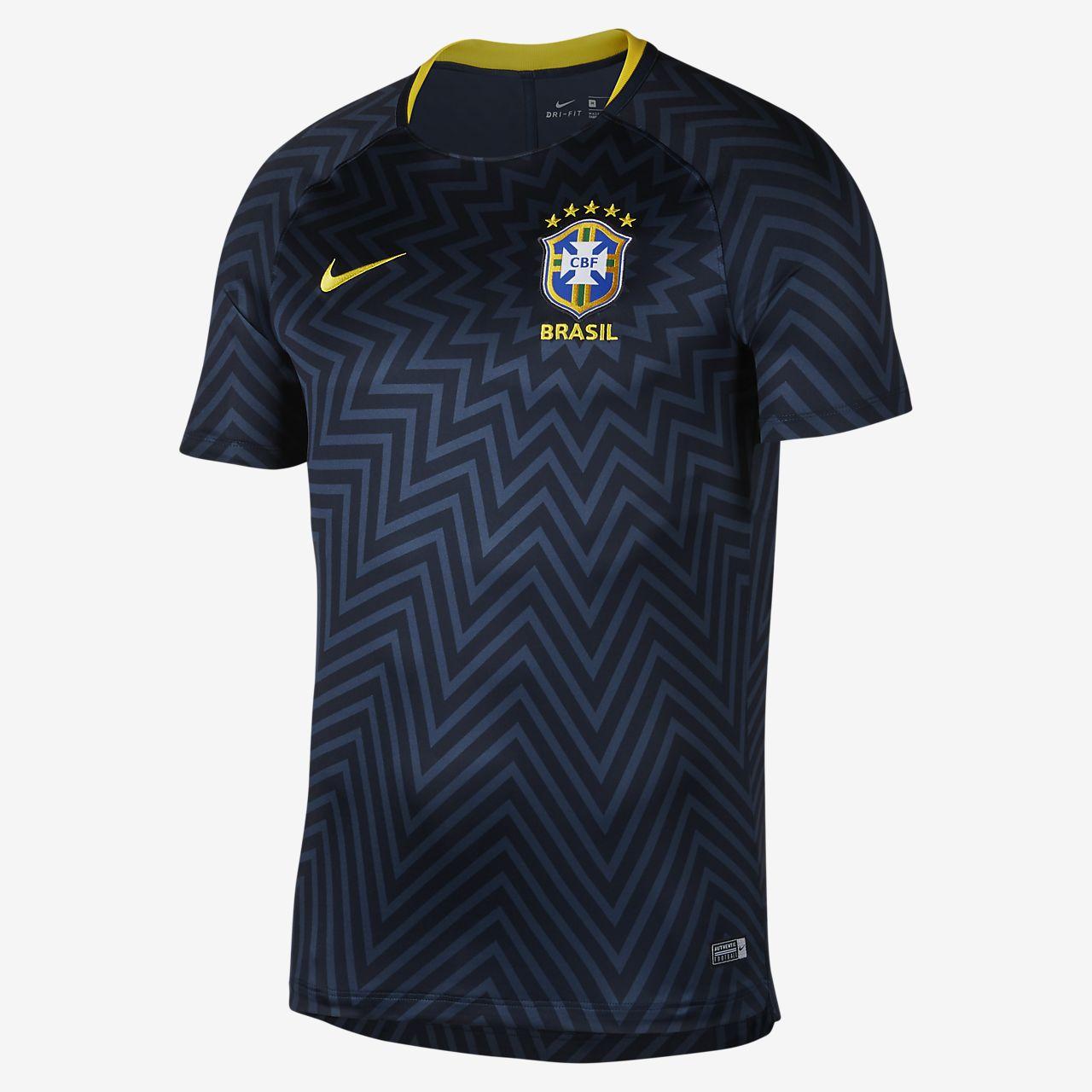 Haut de football Brasil CBF Dri-FIT Squad pour Homme