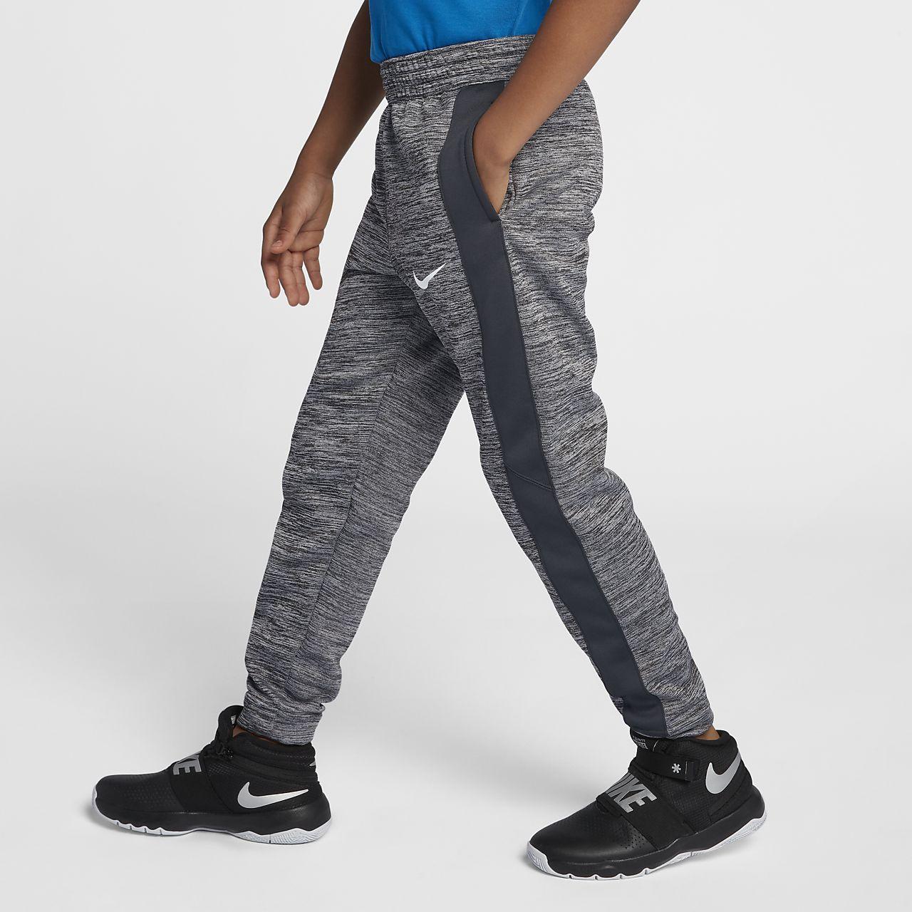 Nike Therma Big Kids  (Boys ) Basketball Pants. Nike.com 5a1c483de