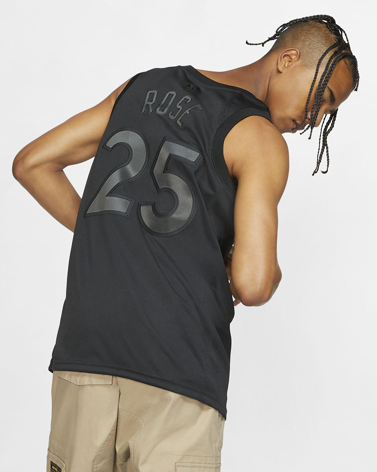 Derrick Rose # 25 Jersey Basketball Masculin NBA Minnesota
