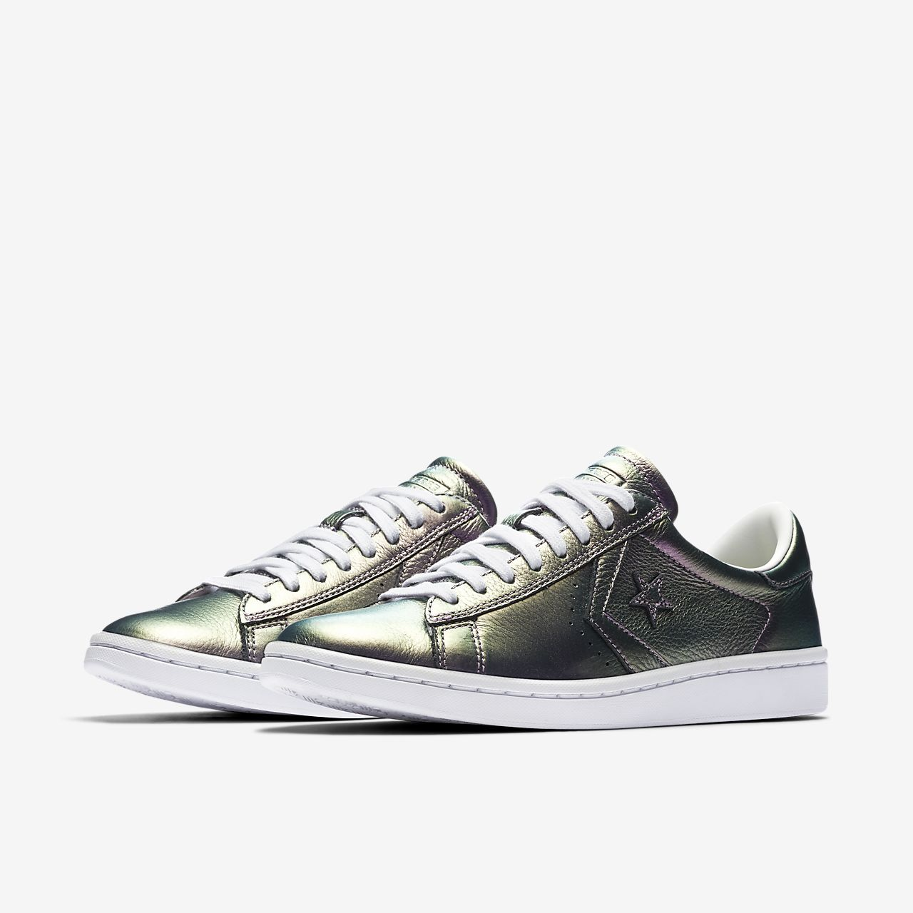 b791a048348 converse pro leather lp iridescent leather low top