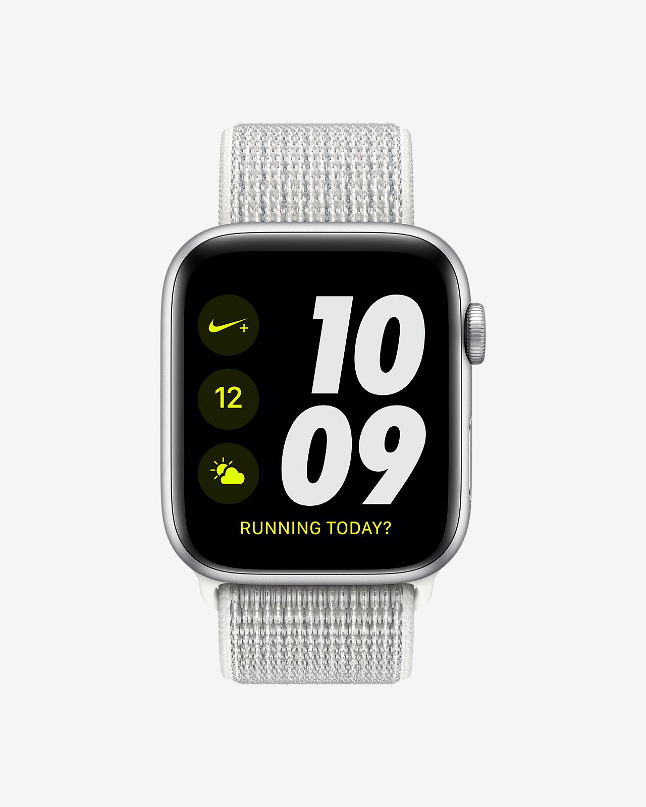 fa3ebd96e60f ... Apple Watch Nike+ Series 4 (GPS + Cellular) con correa Loop Nike Sport  Reloj