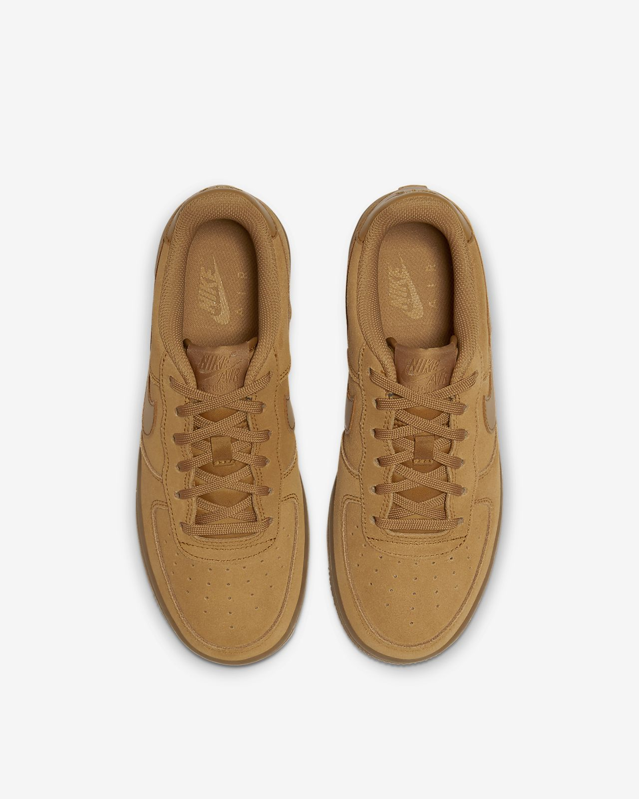 Details about Nike Air Force 1 LV8 3 Jr BQ5485 700 shoes brown