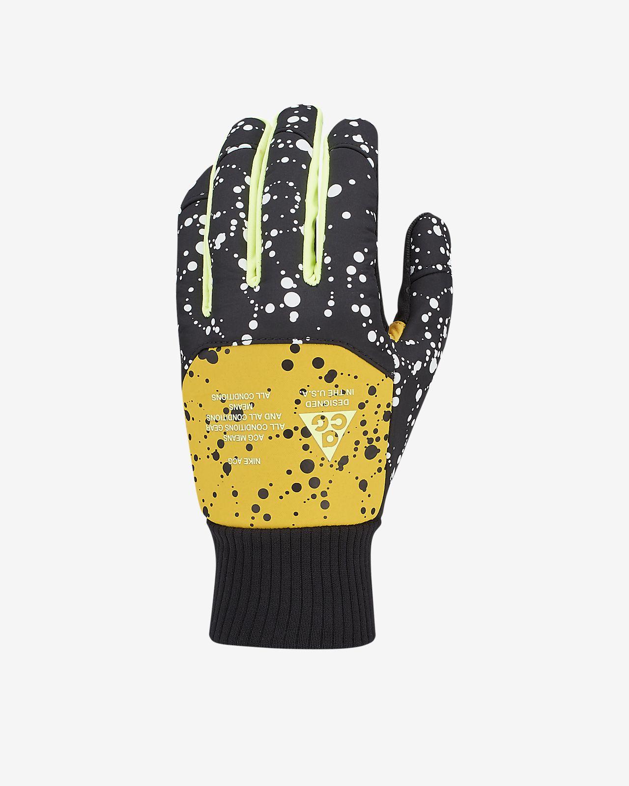 Męskie rękawiczki do biegania Nike ACG Shield