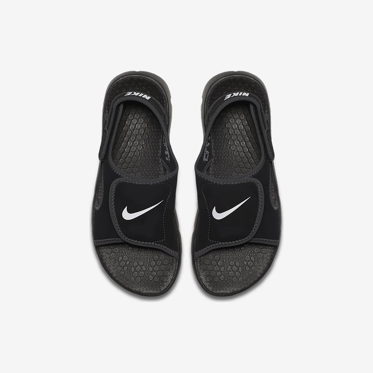Nike Sunray Adjust 4 Jungenschuh - Schwarz rF7Kv
