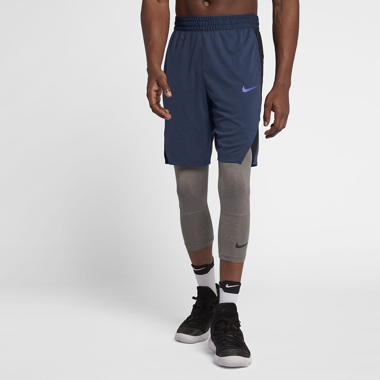 Nike Basket-ball D'élite Des Hommes De Dri-fit 9 Short Avec Poches