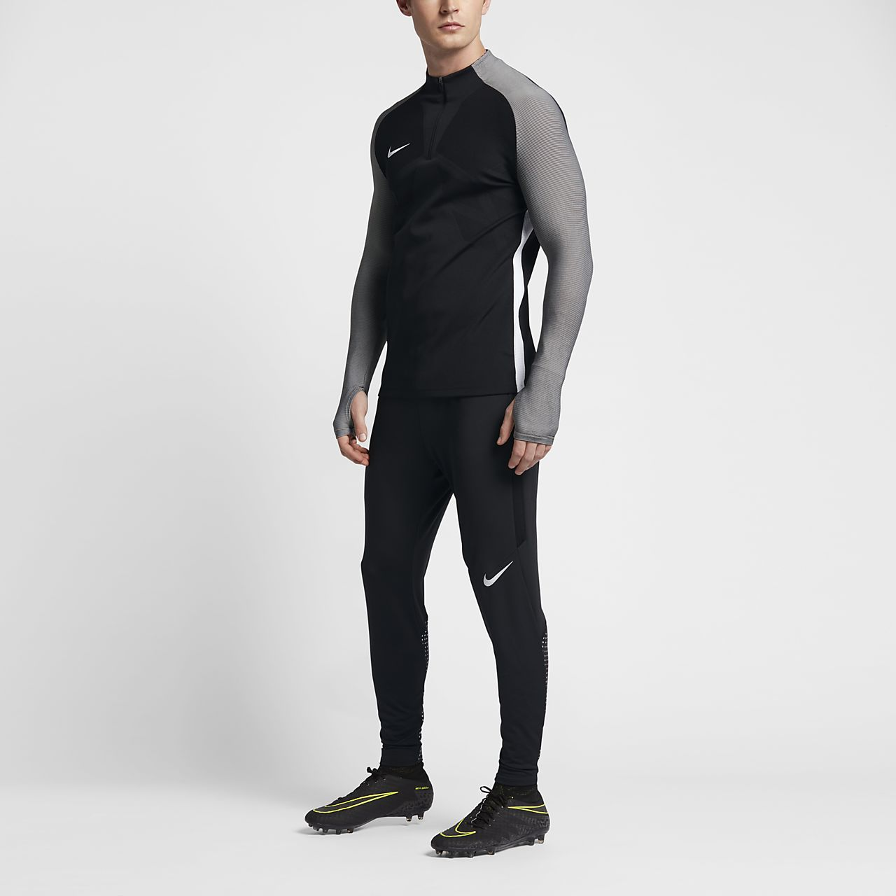 Haut de football 14 de zip Nike Strike Aeroswift pour Homme