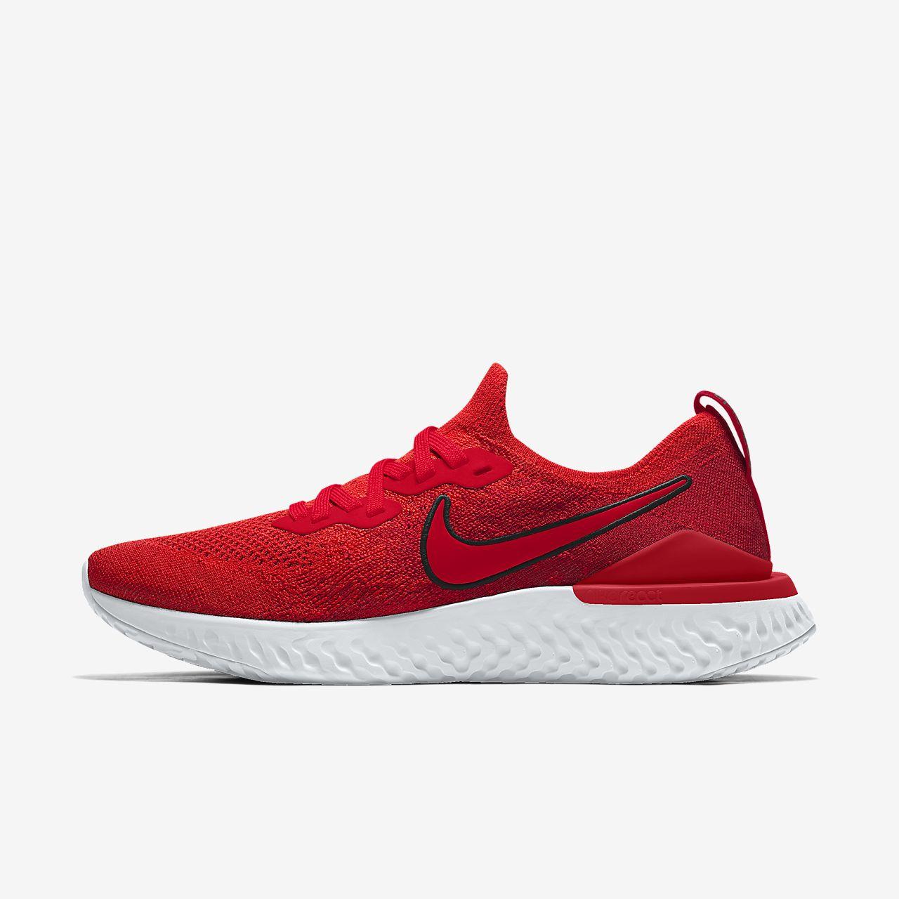 Męskie personalizowane buty do biegania Nike Epic React Flyknit 2 By You