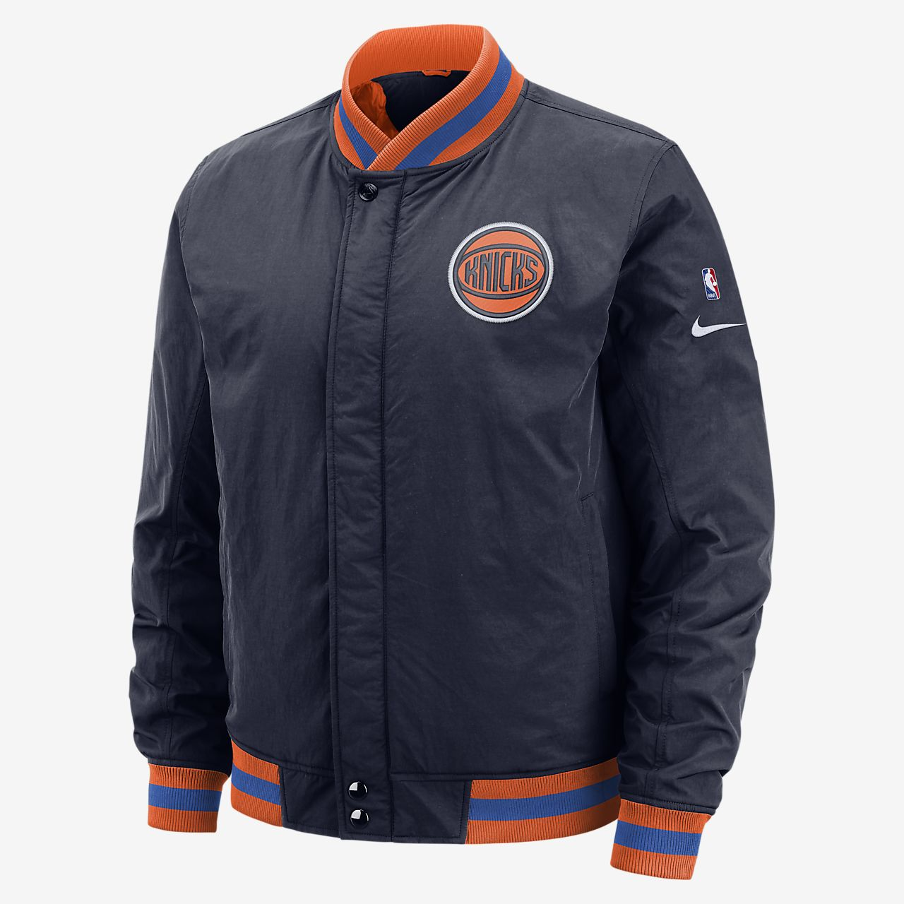 New York Knicks Nike Courtside Men s NBA Jacket. Nike.com ea4f0aa16