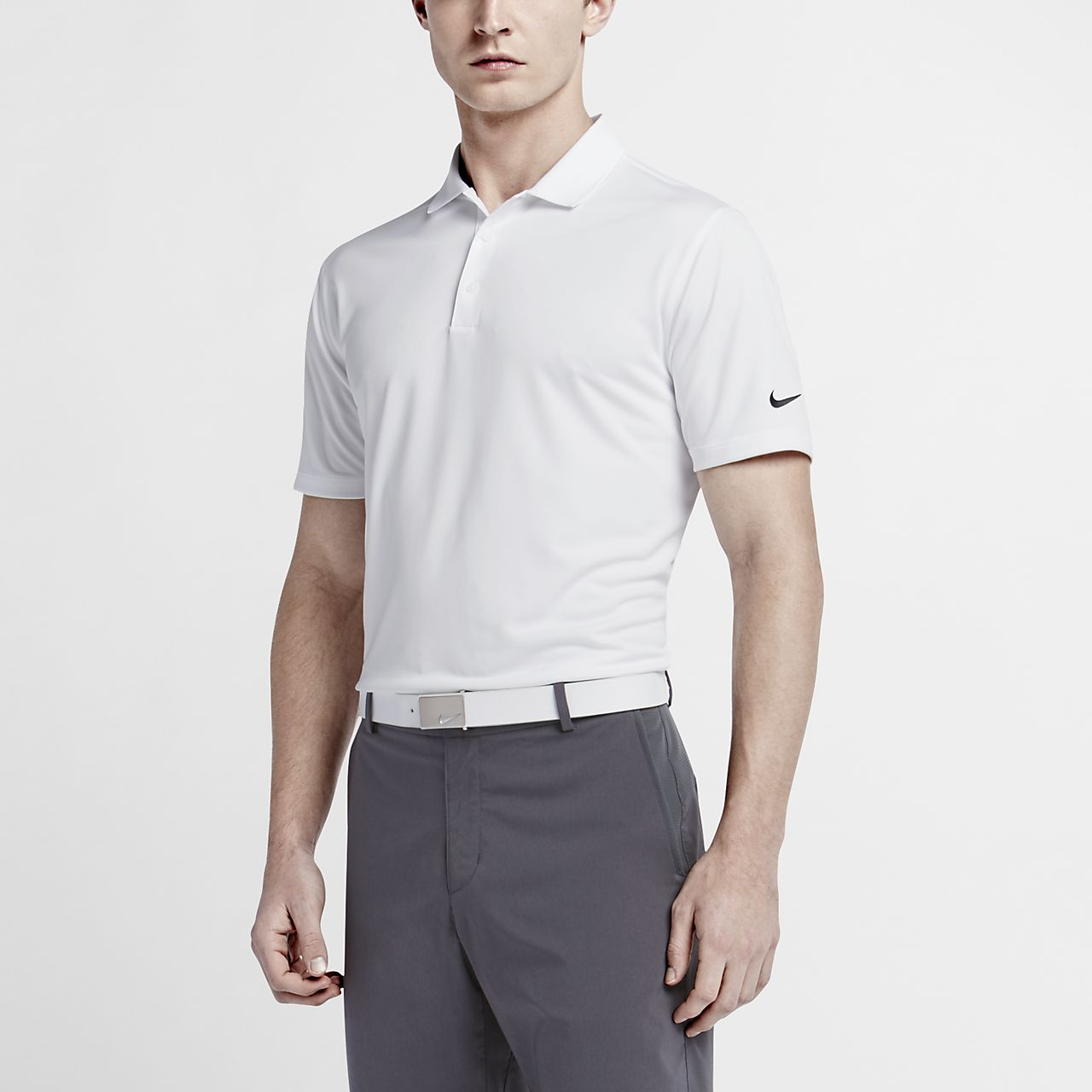 6c912915 Nike Victory Solid Men's Standard Fit Golf Polo. Nike.com IN