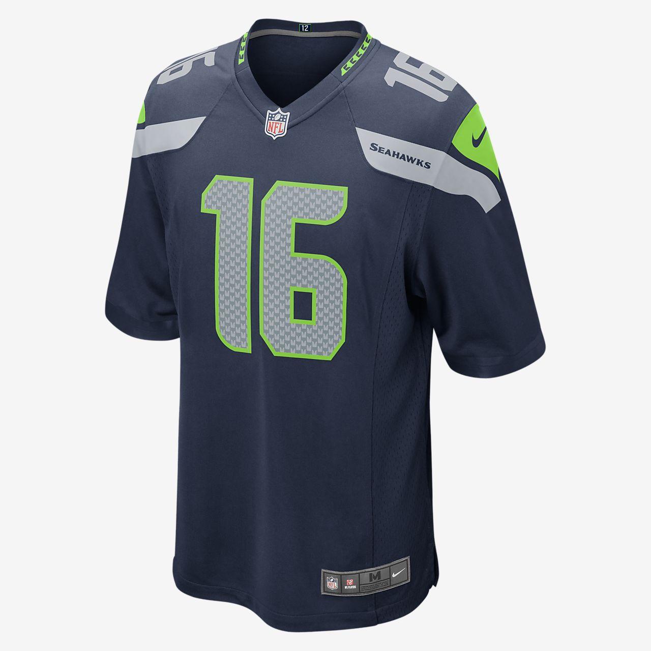 NFL Seattle Seahawks (Tyler Lockett) Men's Football Home Game Jersey