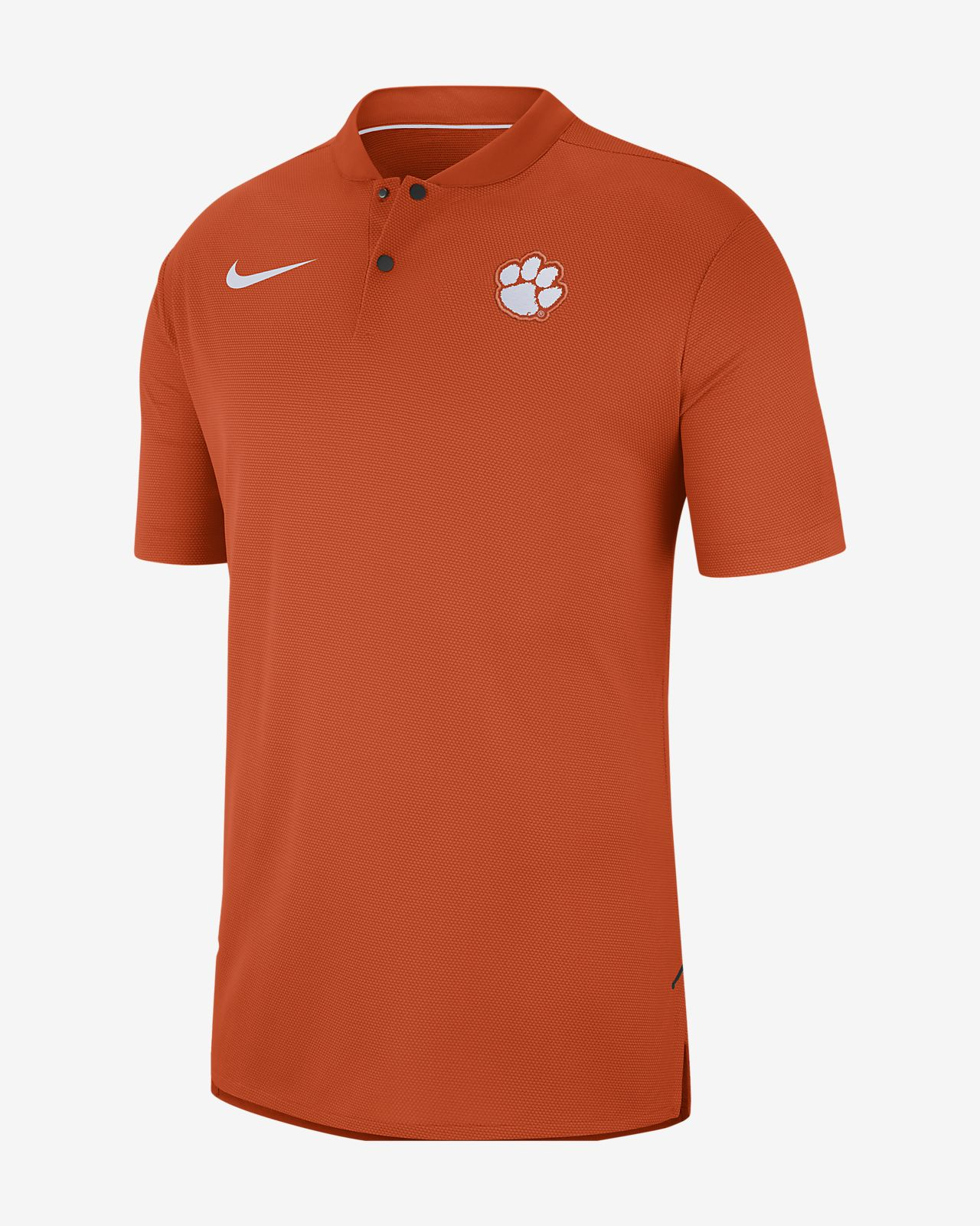 Nike College Dri Fit Elite Clemson Mens Polo Nike
