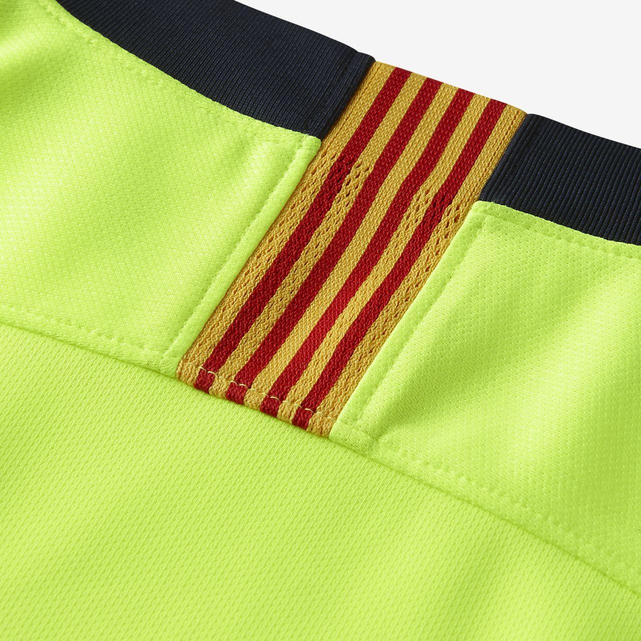1d55d58667d9d ... Camiseta de fútbol de manga larga para hombre 2018 19 FC Barcelona  Stadium Away