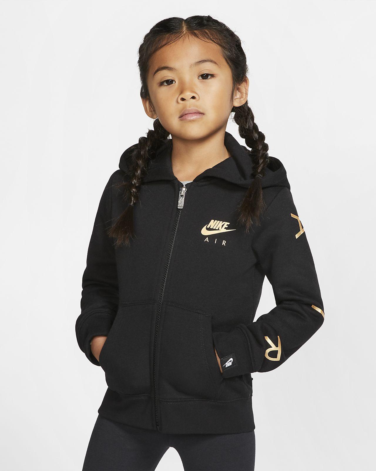 Sweat à capuche entièrement zippé en tissu Fleece Nike Sportswear pour Jeune enfant