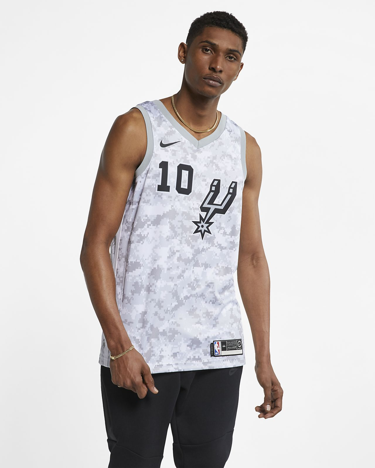 DeMar DeRozan Earned City Edition Swingman (San Antonio Spurs) Men's Nike NBA Connected Jersey