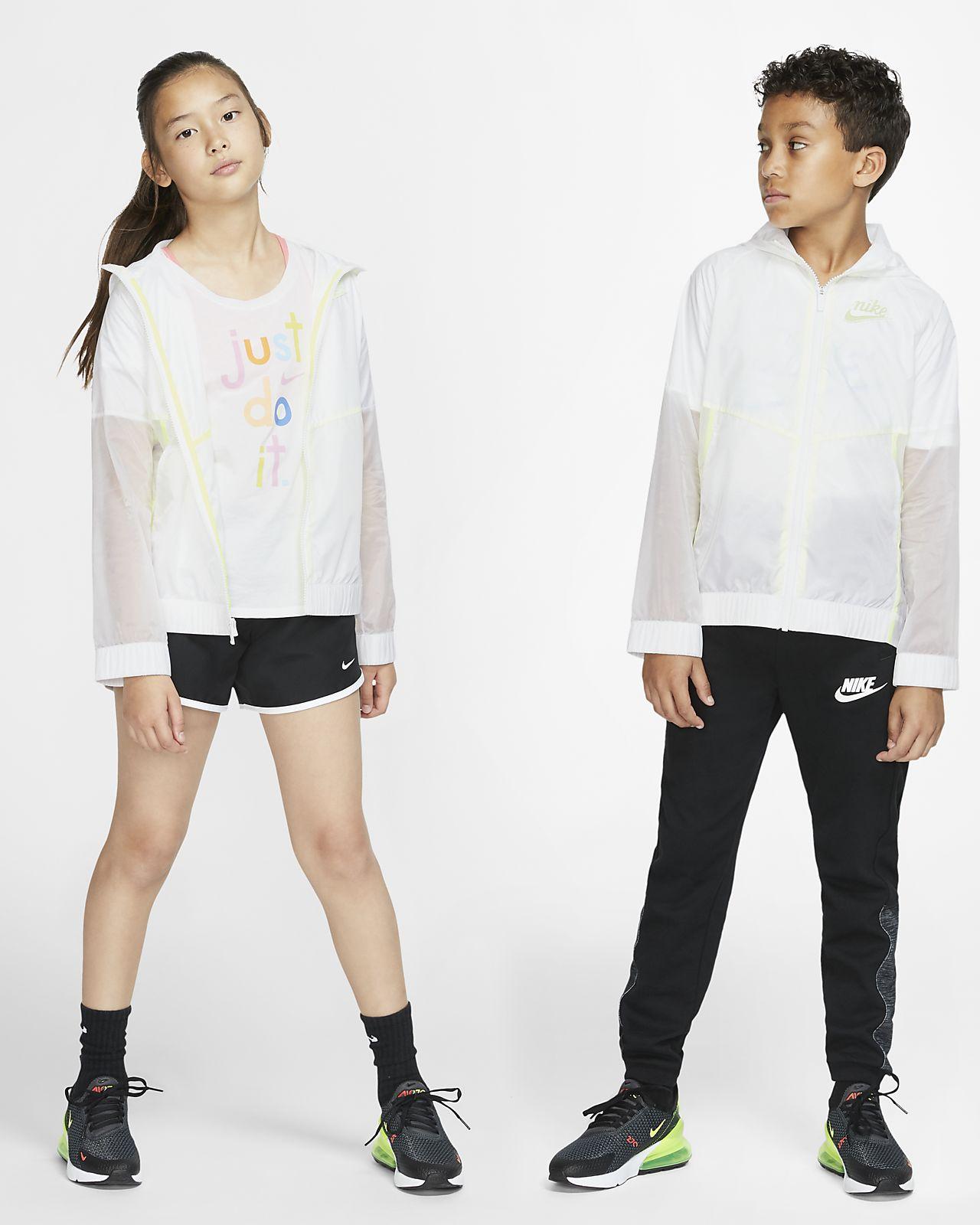 Nike Sportswear Windrunner大童(女孩)夹克