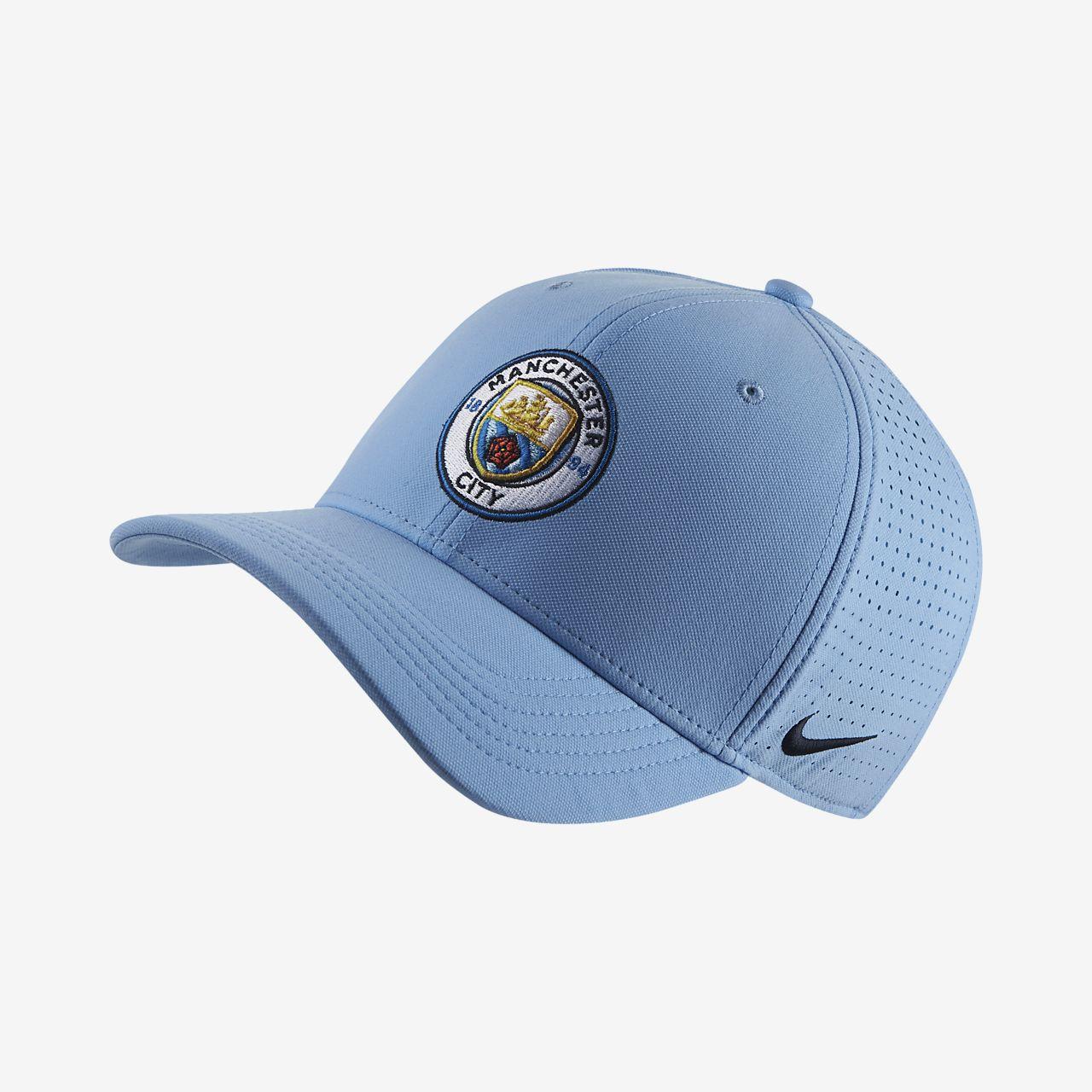 76b691883925f Manchester City FC AeroBill Classic99 Adjustable Hat. Nike.com NZ