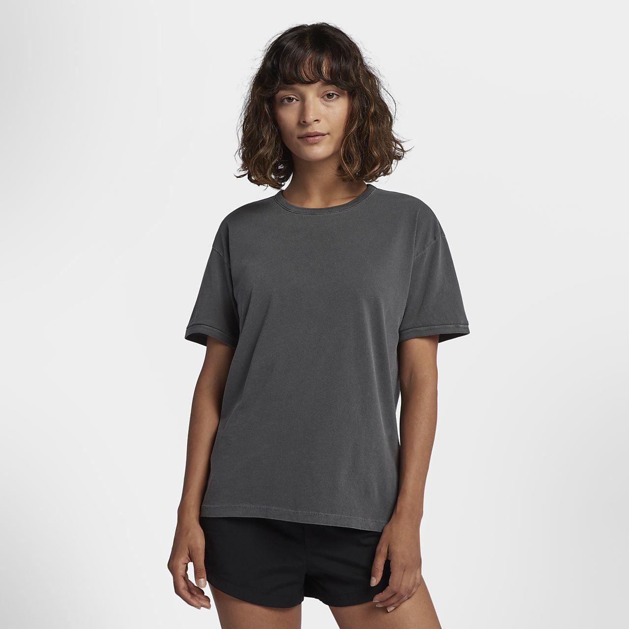 306153d7a13 Hurley Solid Wash Ringer Women s T-Shirt. Nike.com