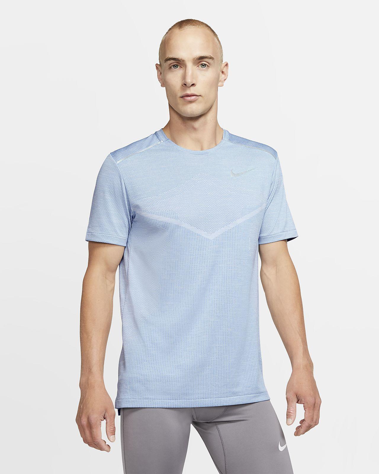 Pánské běžecké tričko Nike TechKnit Ultra s krátkým rukávem