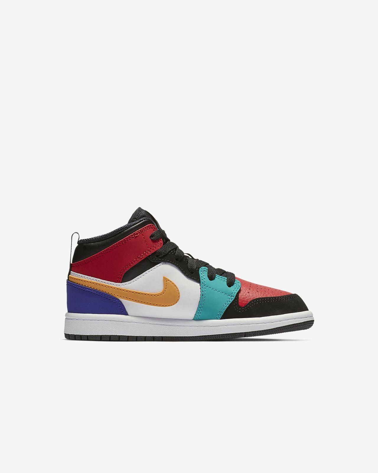 9bc6e43cb286 Air Jordan 1 Mid Little Kids  Shoe. Nike.com