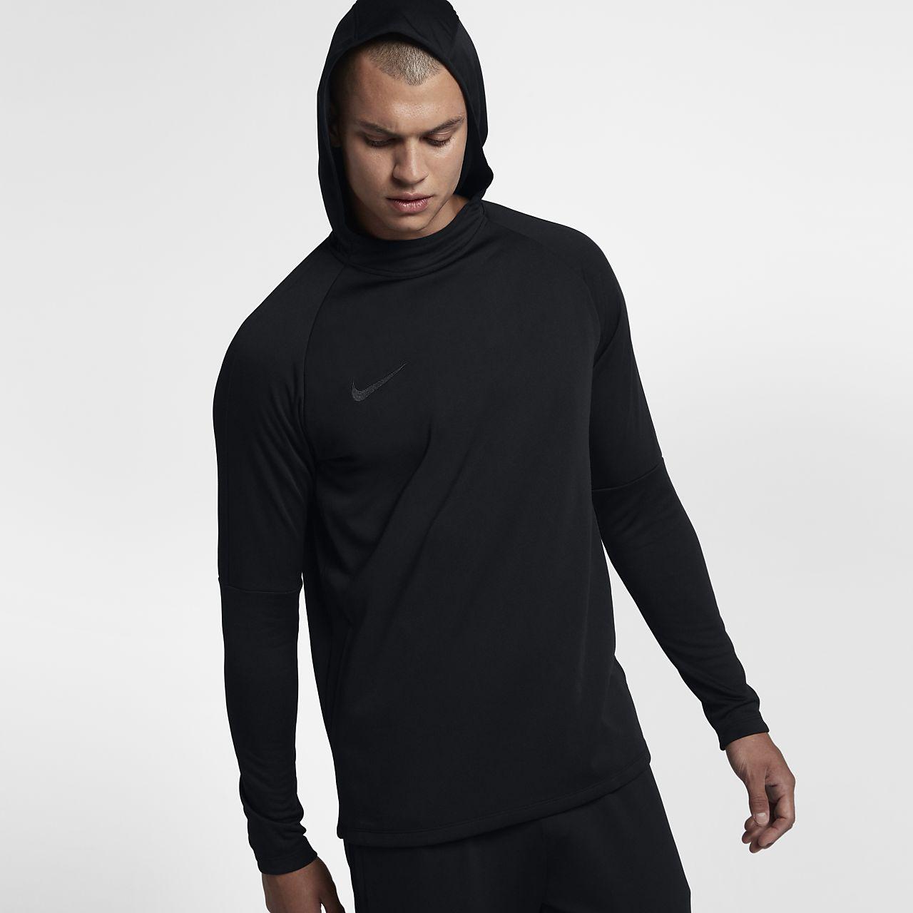 Sudadera con capucha sin cierre de fútbol para hombre Nike Dri-FIT Academy