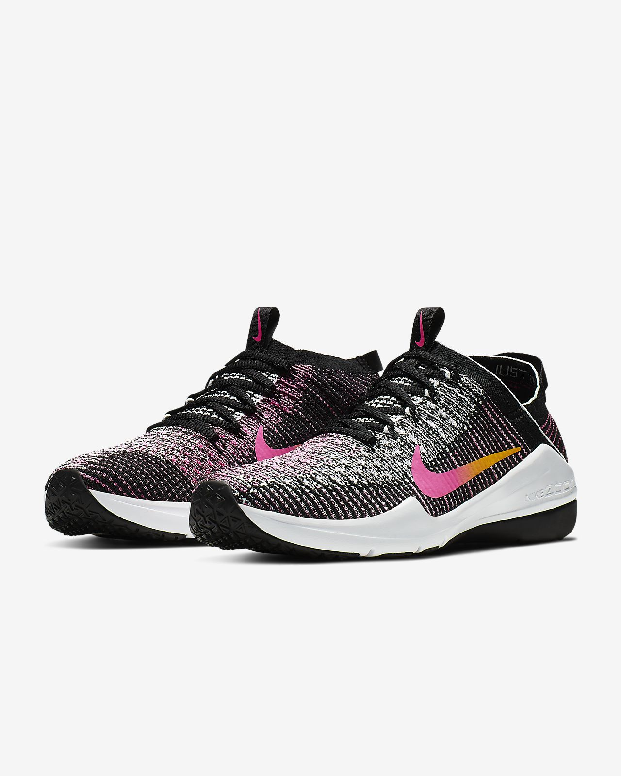 online retailer c6295 9452a ... Nike Air Zoom Fearless Flyknit 2 Women s Gym Training Boxing Shoe