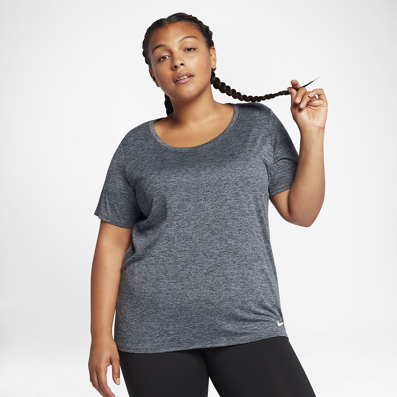 Nike Dri-FIT Legend (Plus Size) Women's Short Sleeve Training Top