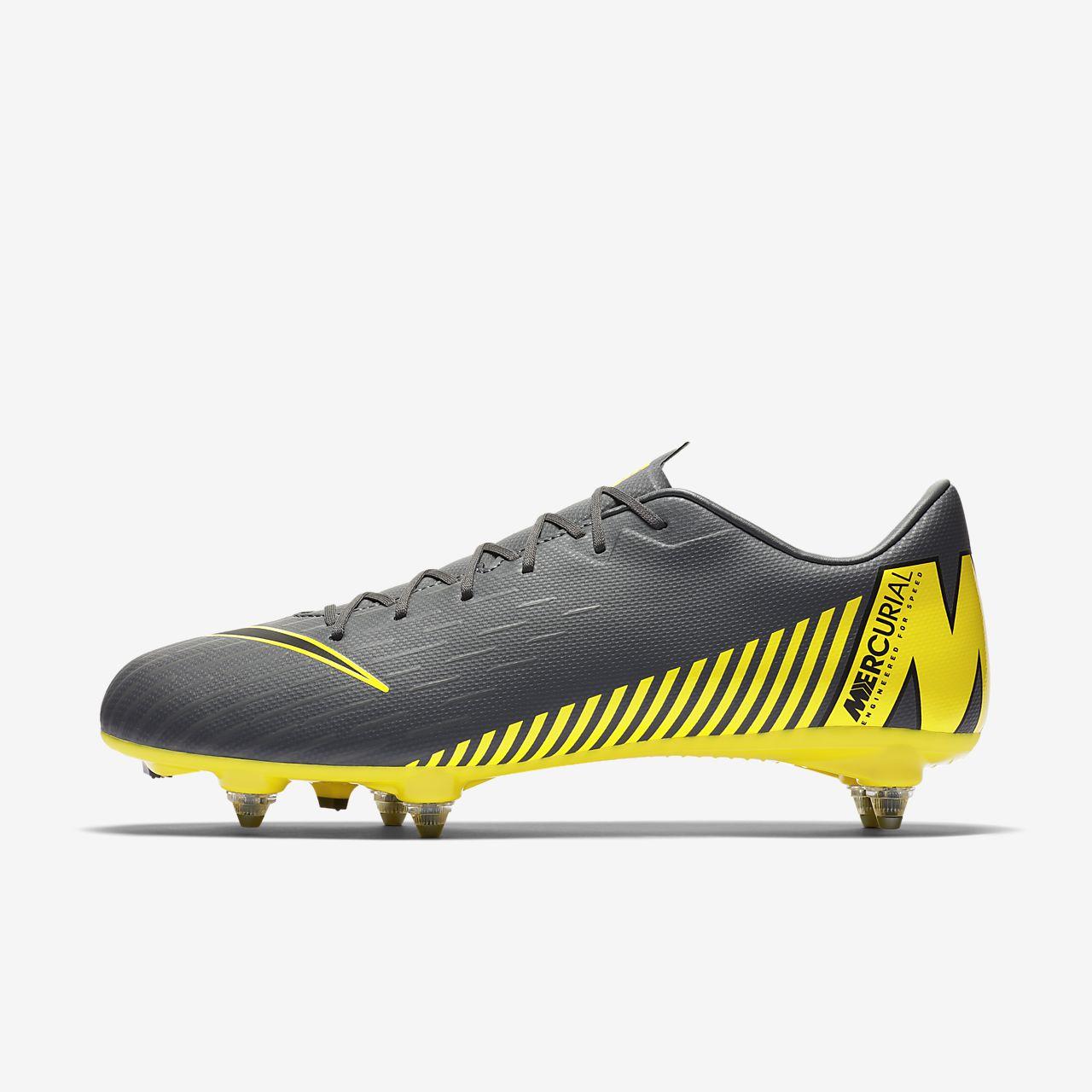 cheap for discount e6802 9ebe8 ... Chaussure de football à crampons pour terrain gras Nike Mercurial Vapor  XII Academy SG-PRO