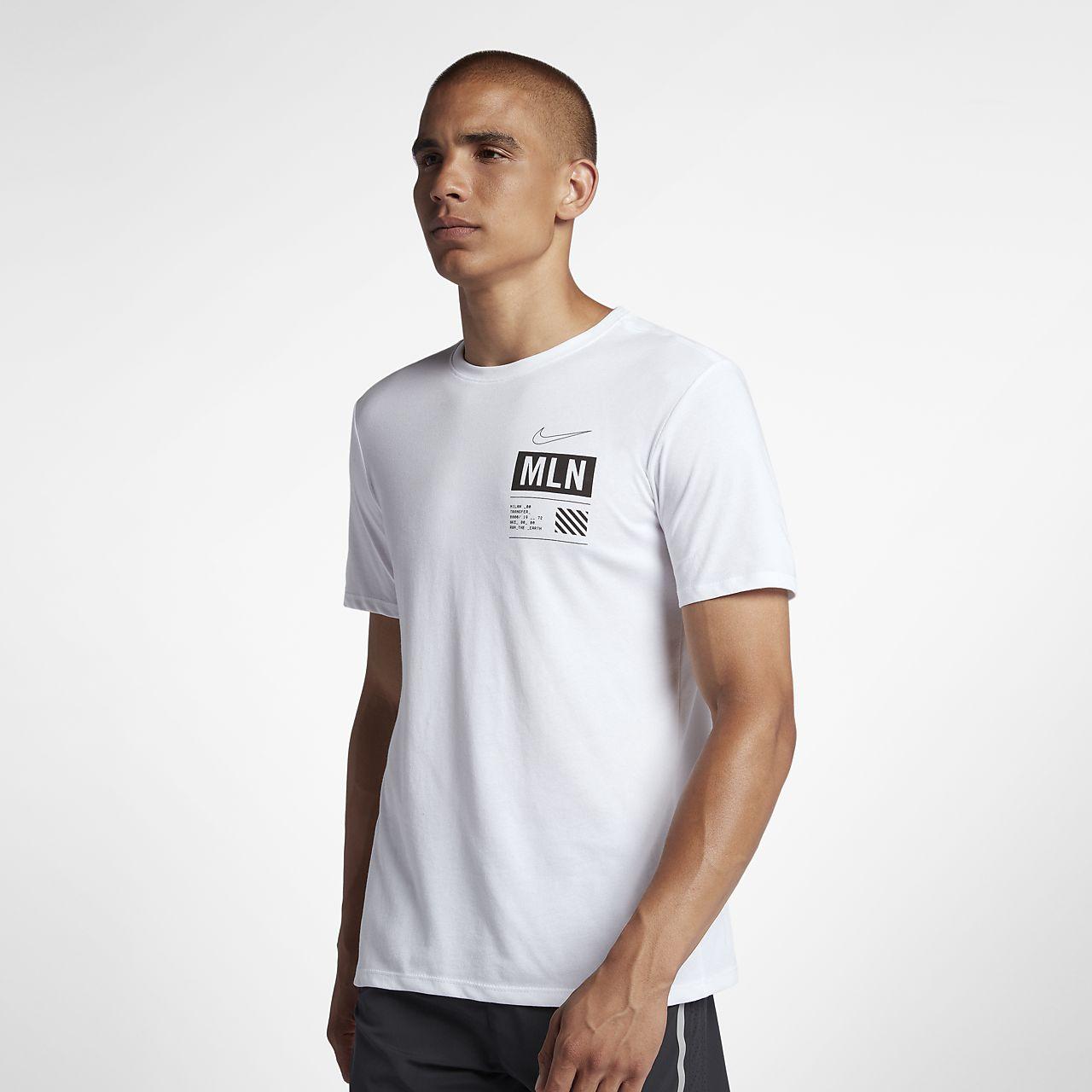 Nike Dri FIT (Milan) Lauf T Shirt für Herren