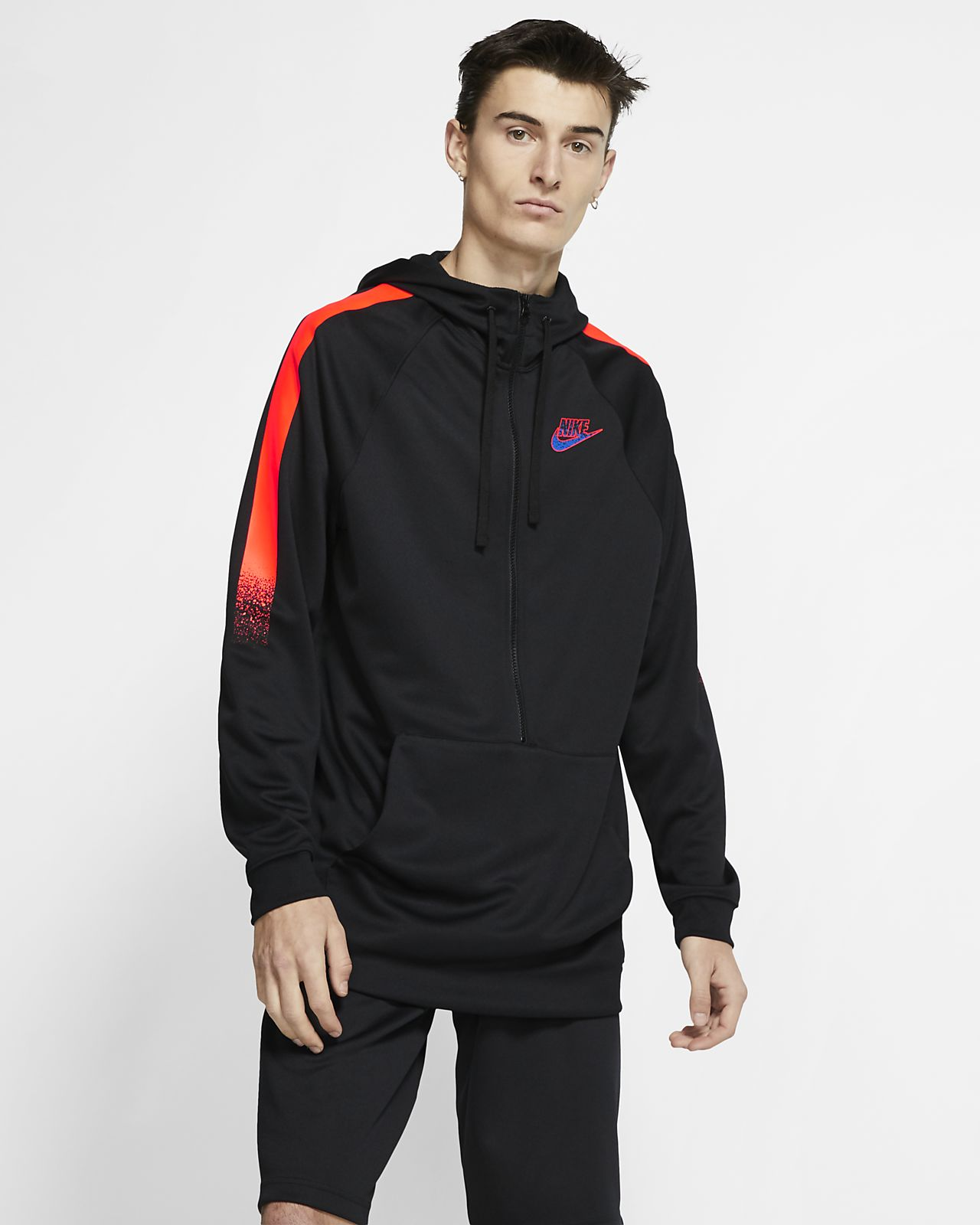 ed1461e8 ... Nike Sportswear hettejakke med glidelås i halv lengde til herre