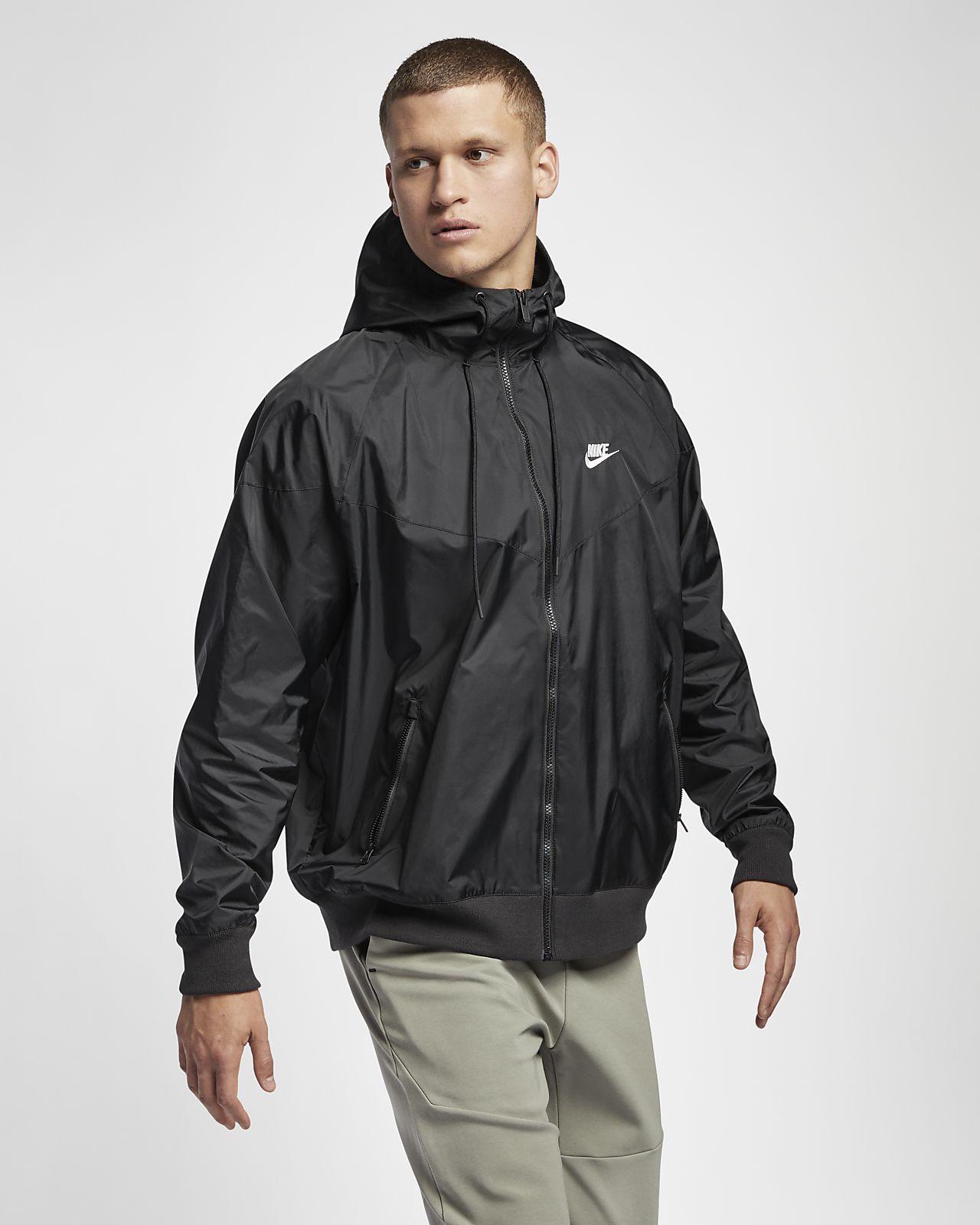 giacca antivento nike
