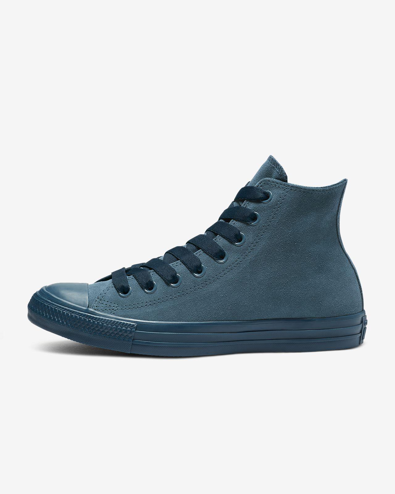 Converse Chuck Taylor All Star Suede Mono Color High Top  Unisex Shoe