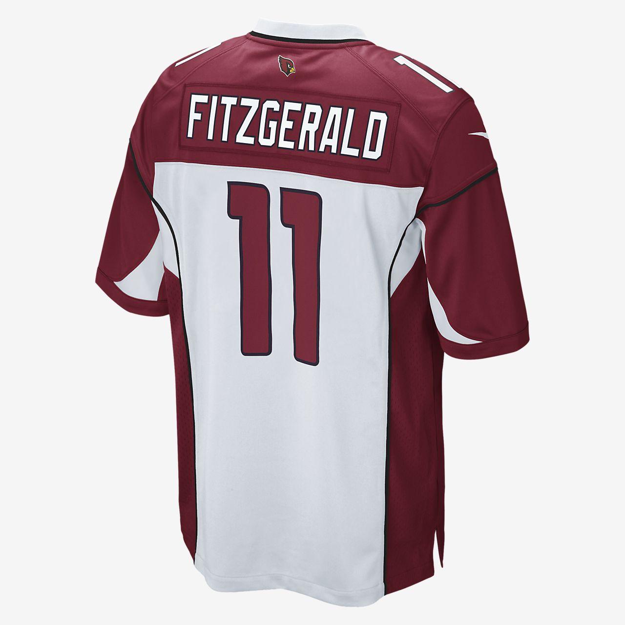 61a7783cab2b ... NFL Arizona Cardinals (Larry Fitzgerald) Men s Football Away Game Jersey