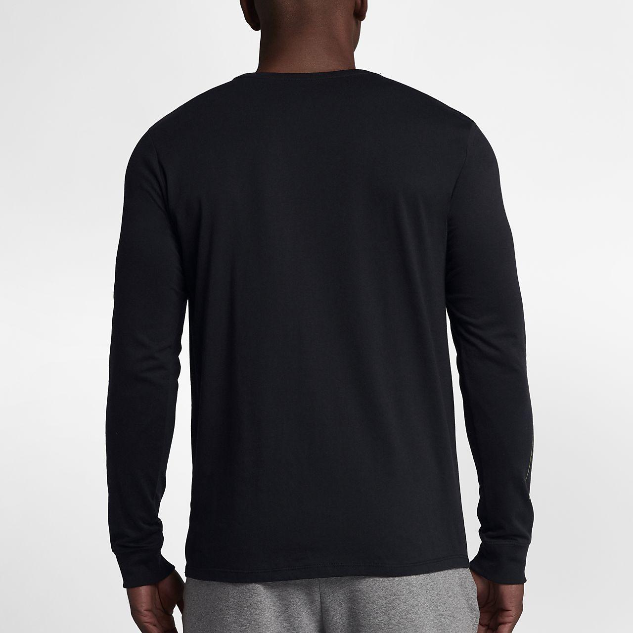 classic fit d07e5 cb8b7 Nike Jordan Long Sleeve Shirts