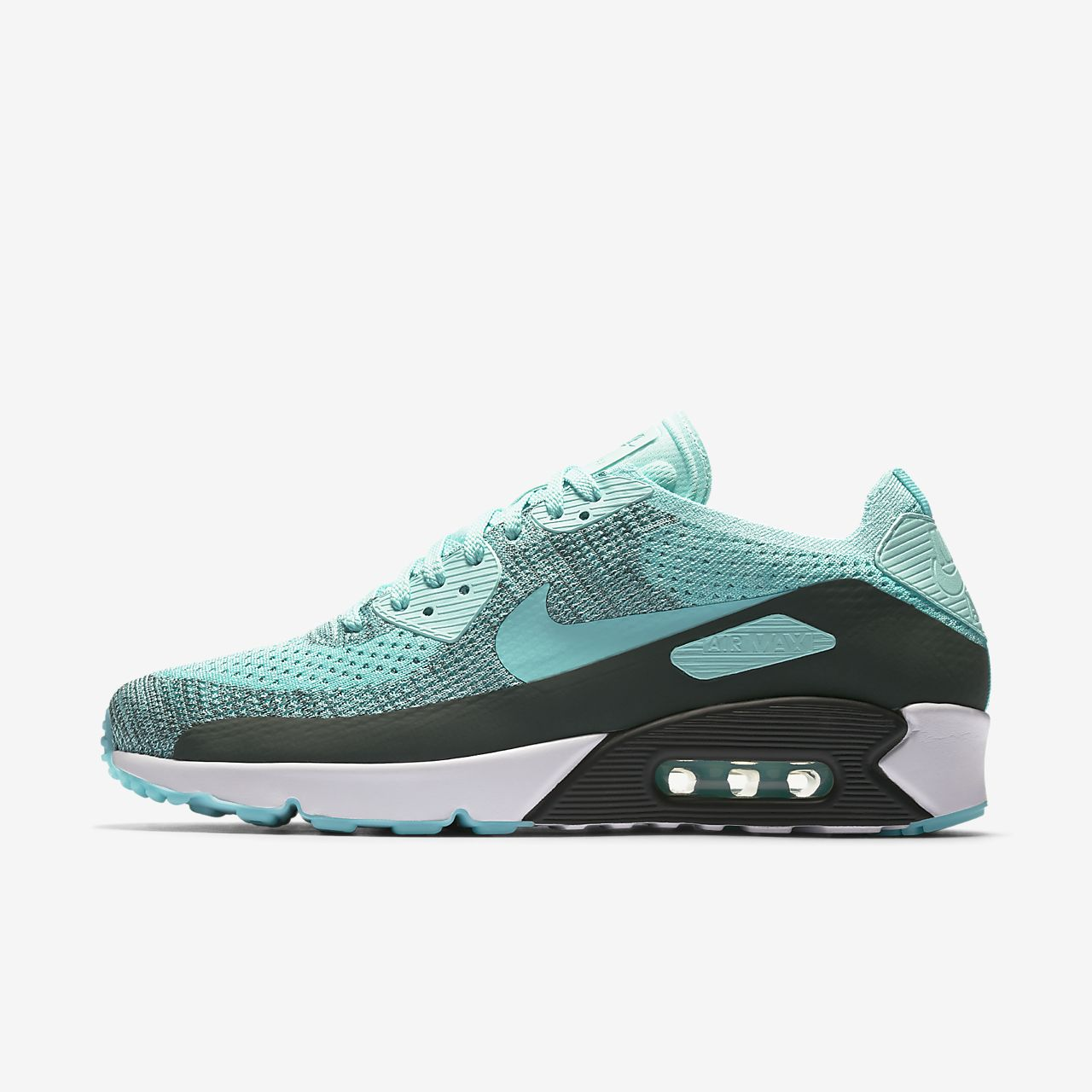 nike air max 90 leather white trainers nz