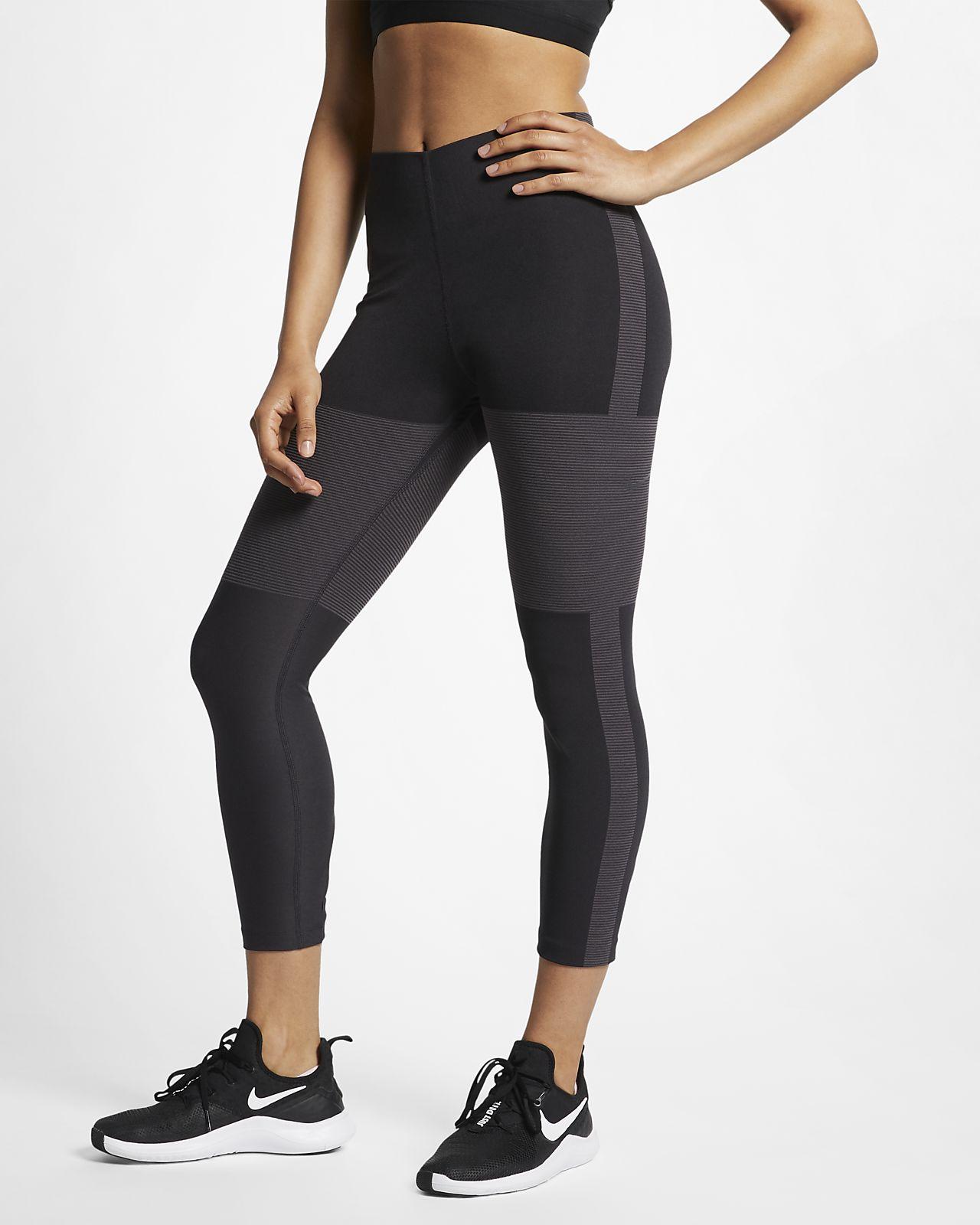 กางเกงวิ่ง 5 ส่วนผู้หญิง Nike Tech