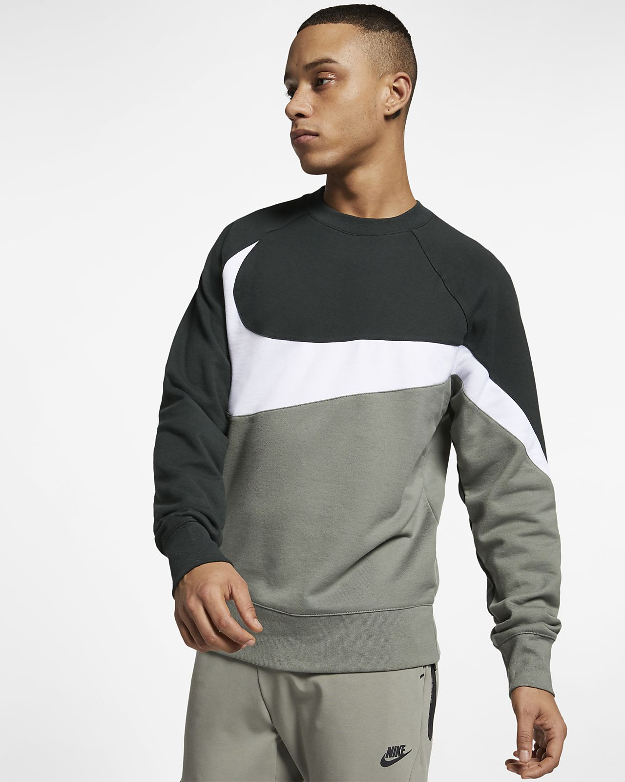 Maglia a girocollo in French Terry Nike Sportswear