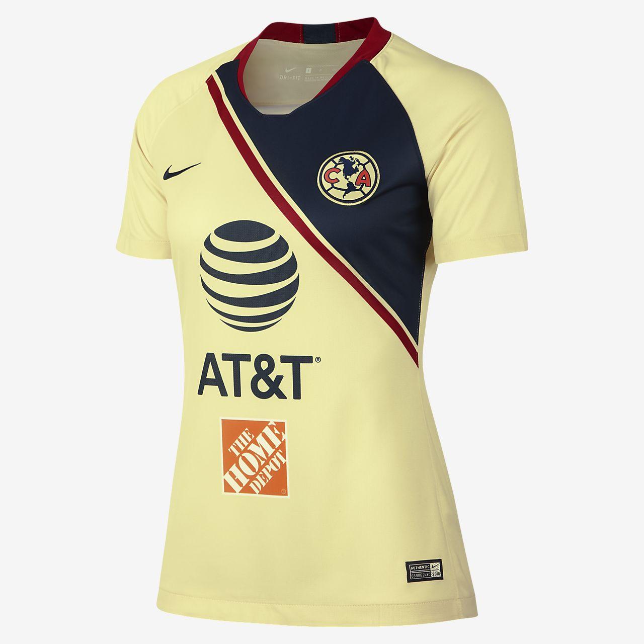 2018 19 Club America Stadium Home Women s Soccer Jersey. Nike.com 69202ed0e8