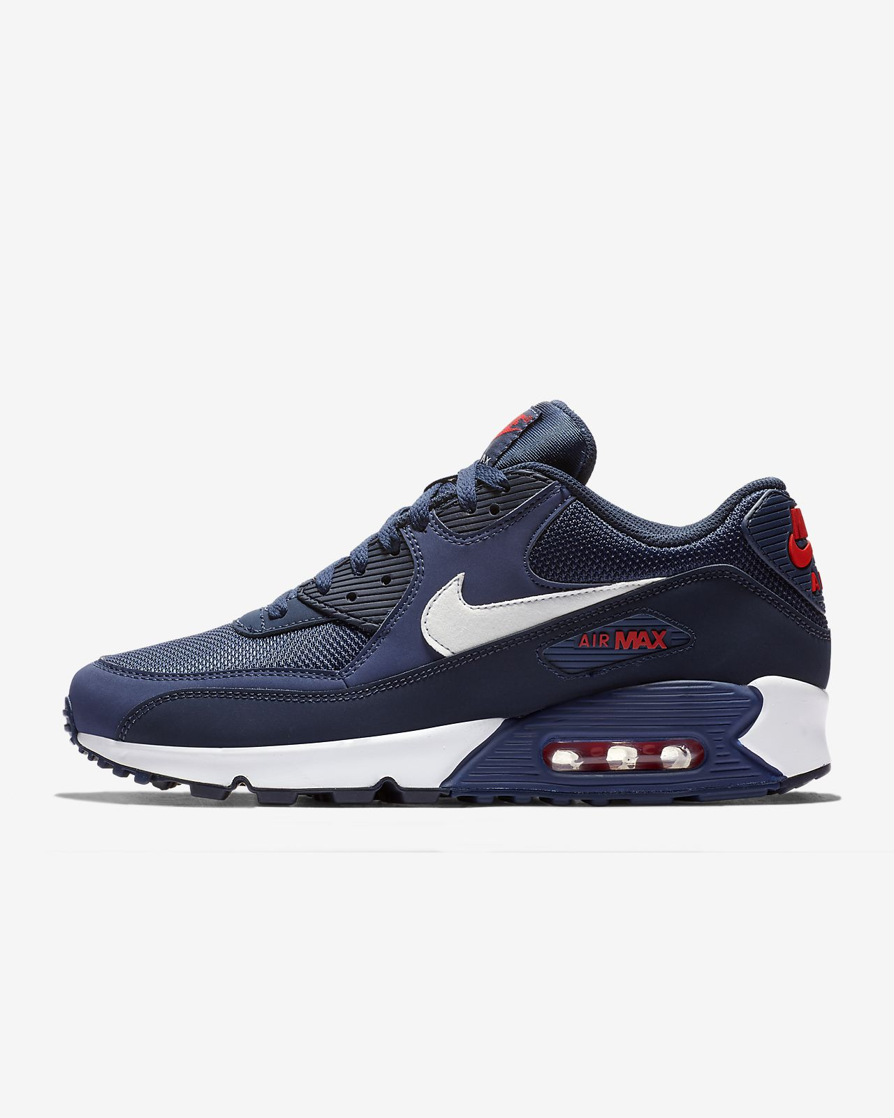 nike air max 95 midnight navy university rot Weiß
