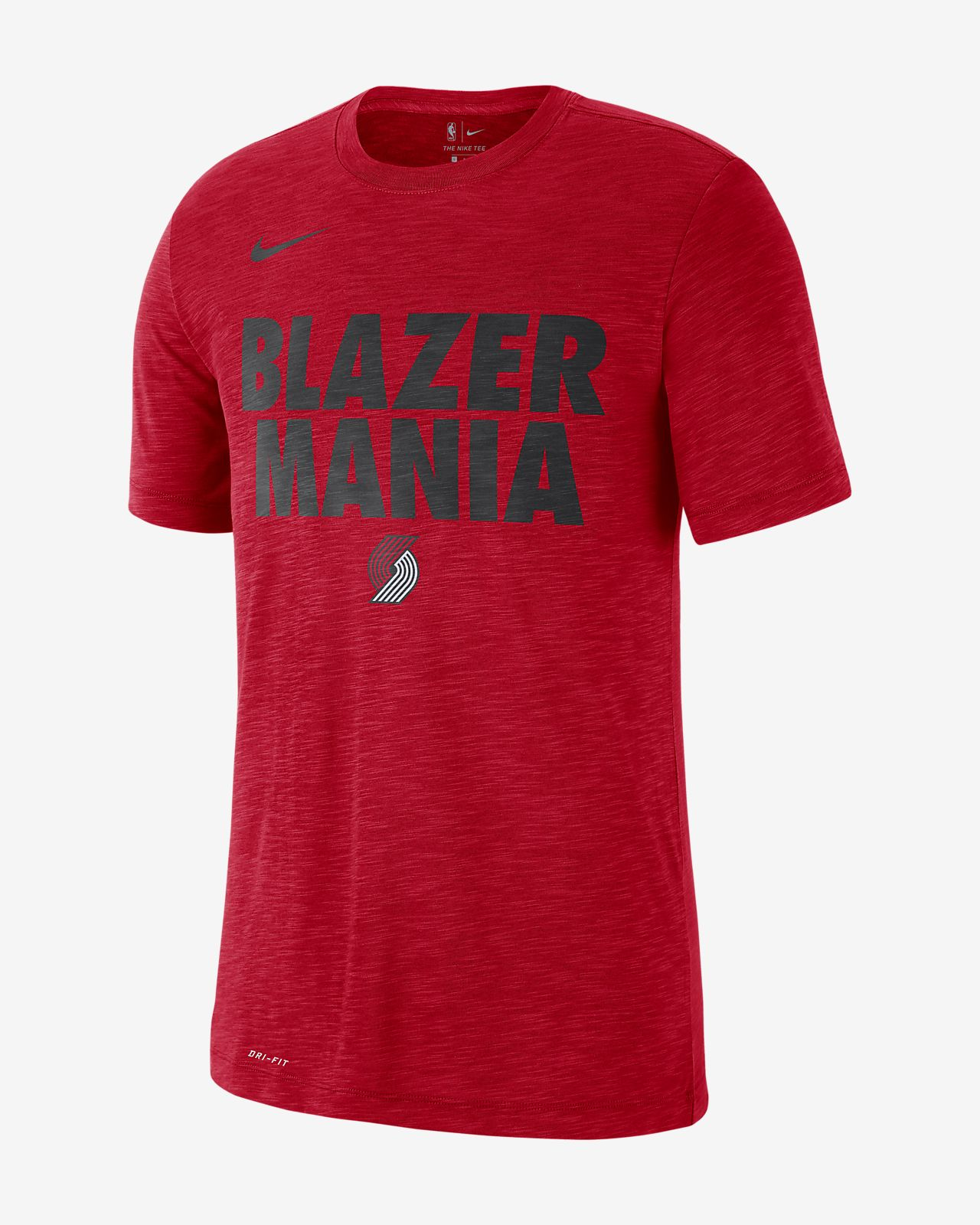 competitive price 2711a d1354 Portland Trail Blazers Nike Dri-FIT Men's NBA T-Shirt