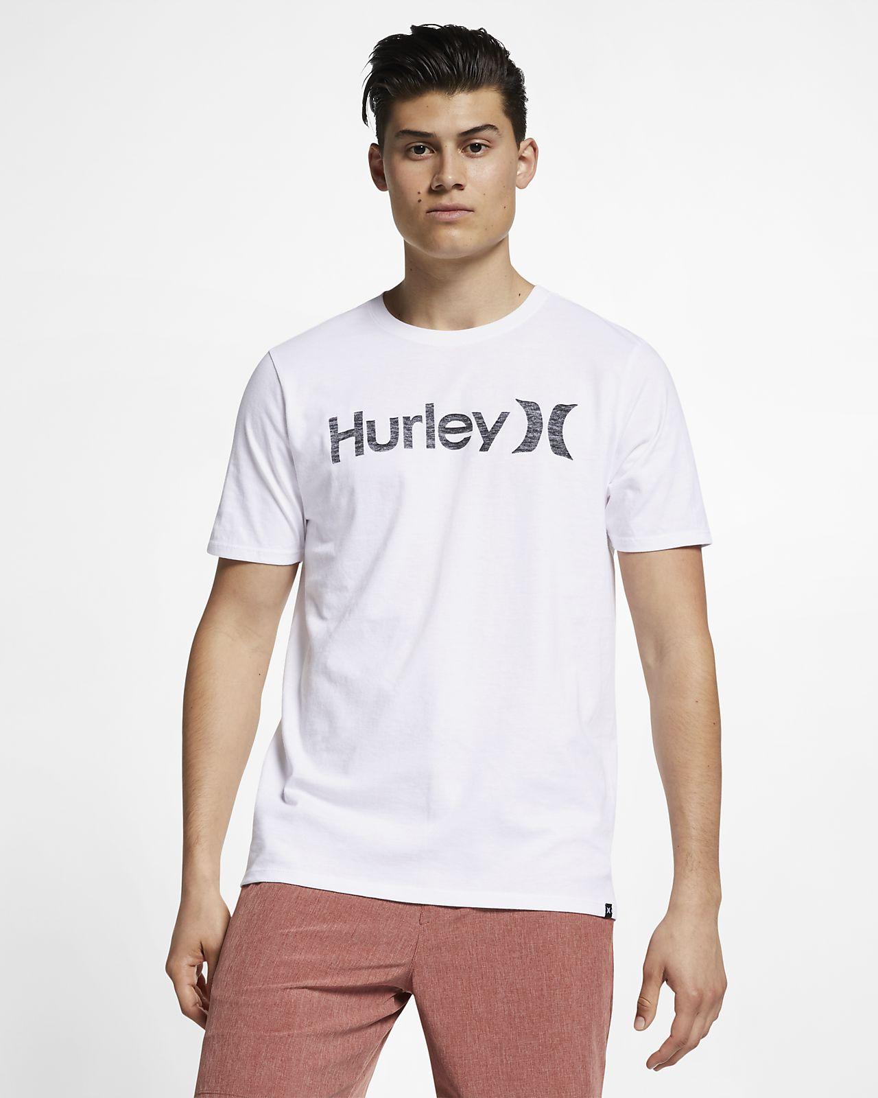 Hurley Premium One And Only Push Through Herren-T-Shirt