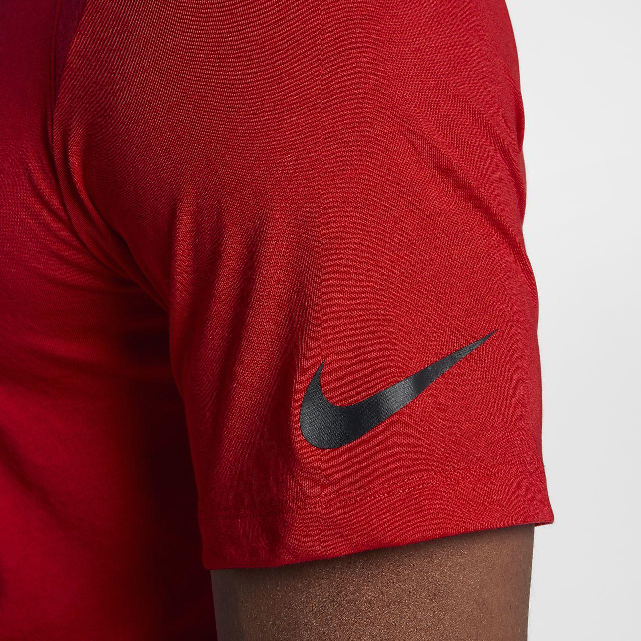 Basketball Courtes Breathe Nike À Elite Haut Manches Homme Pour De 543AjLqR